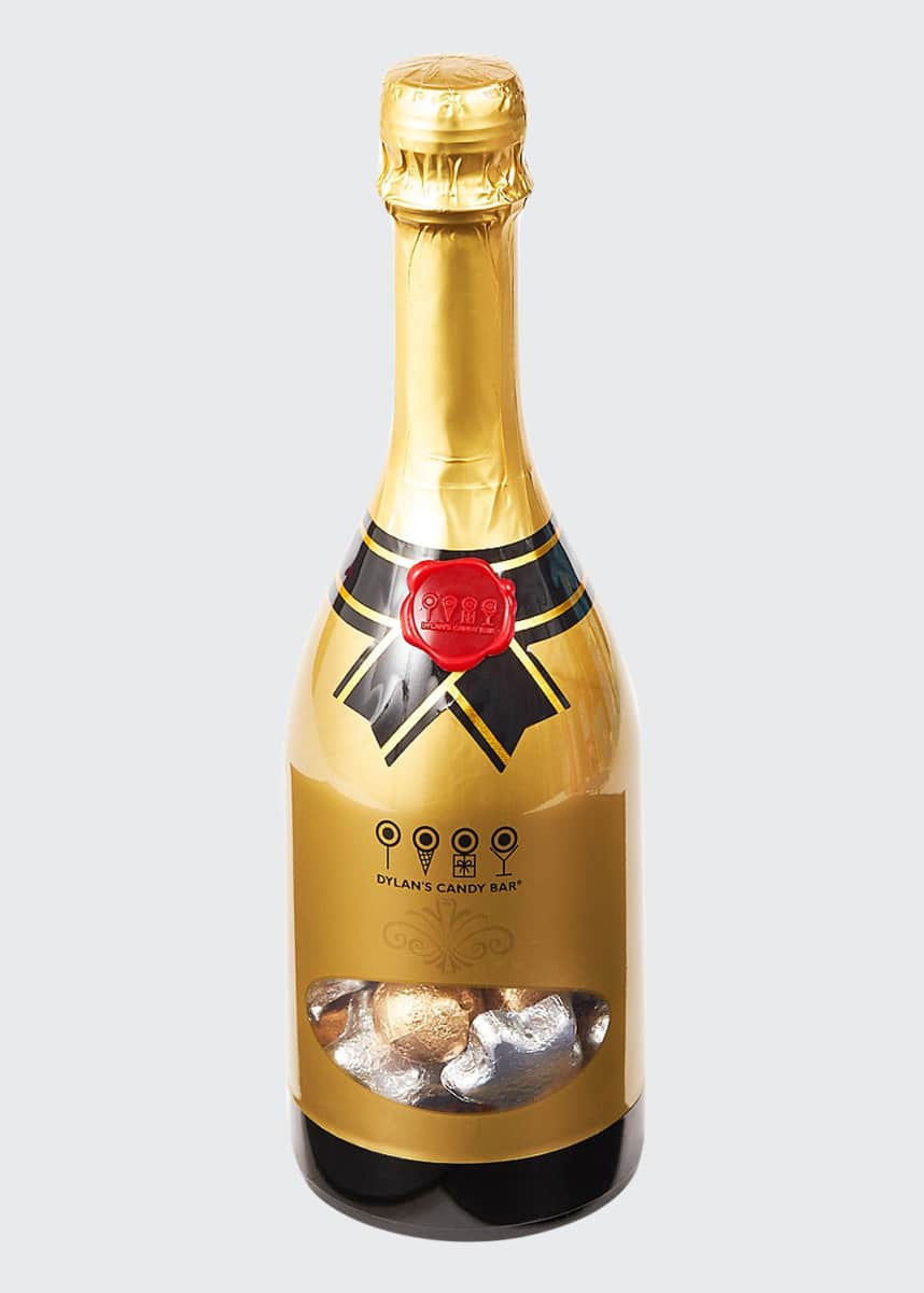 Dylan's Candy Bar Holiday Cheers Champagne Bottle