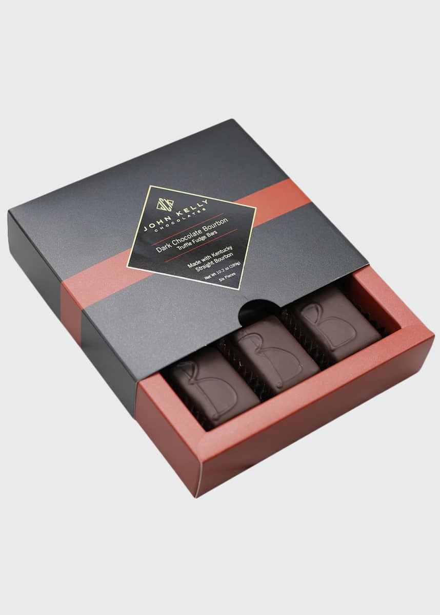 John Kelly Chocolates Dark Chocolate Bourbon Box