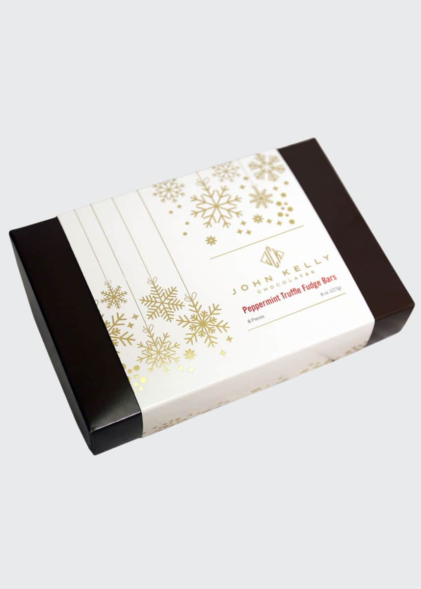 John Kelly Chocolates Peppermint Truffle Fudge Box