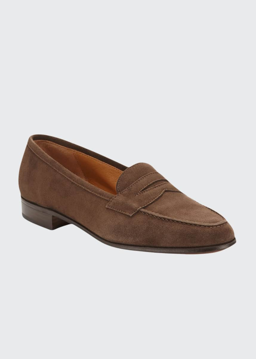 Gravati Suede Penny Keeper Loafer