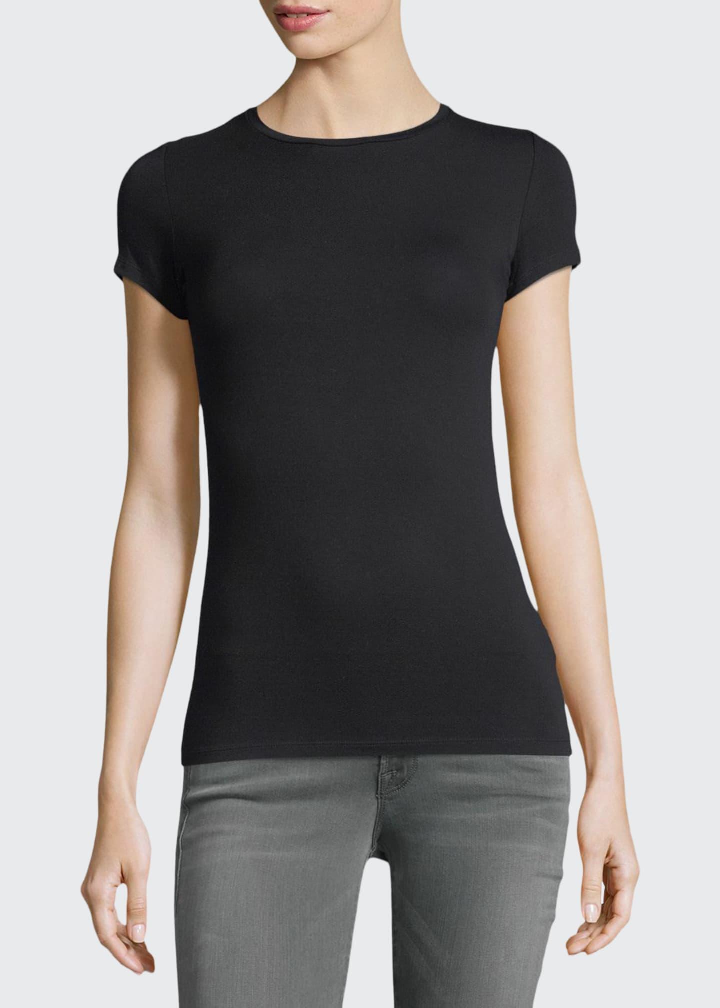Majestic Soft Touch Short-Sleeve Crewneck T-Shirt