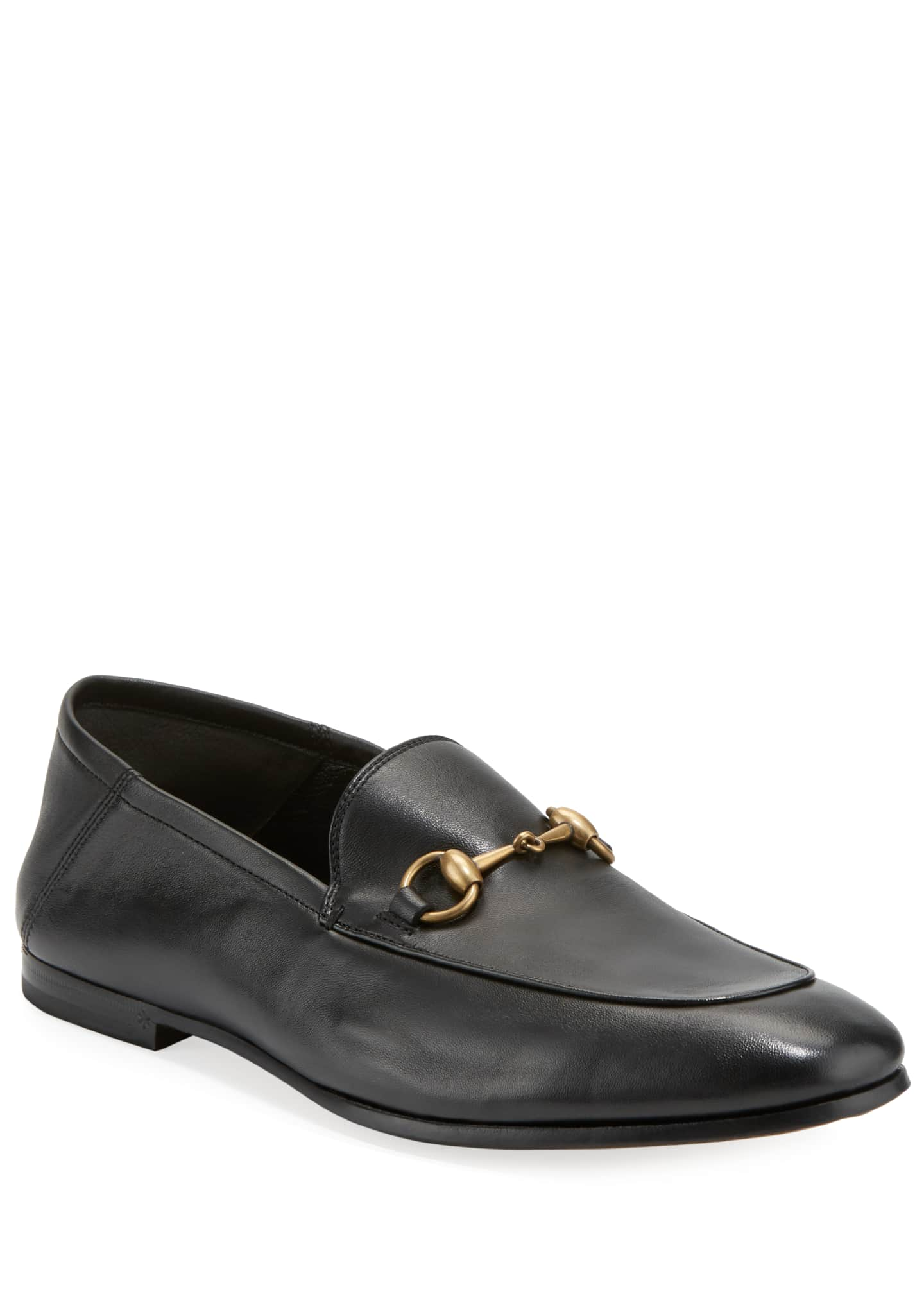 Image 1 of 4: Brixton Soft Leather Bit-Strap Loafer