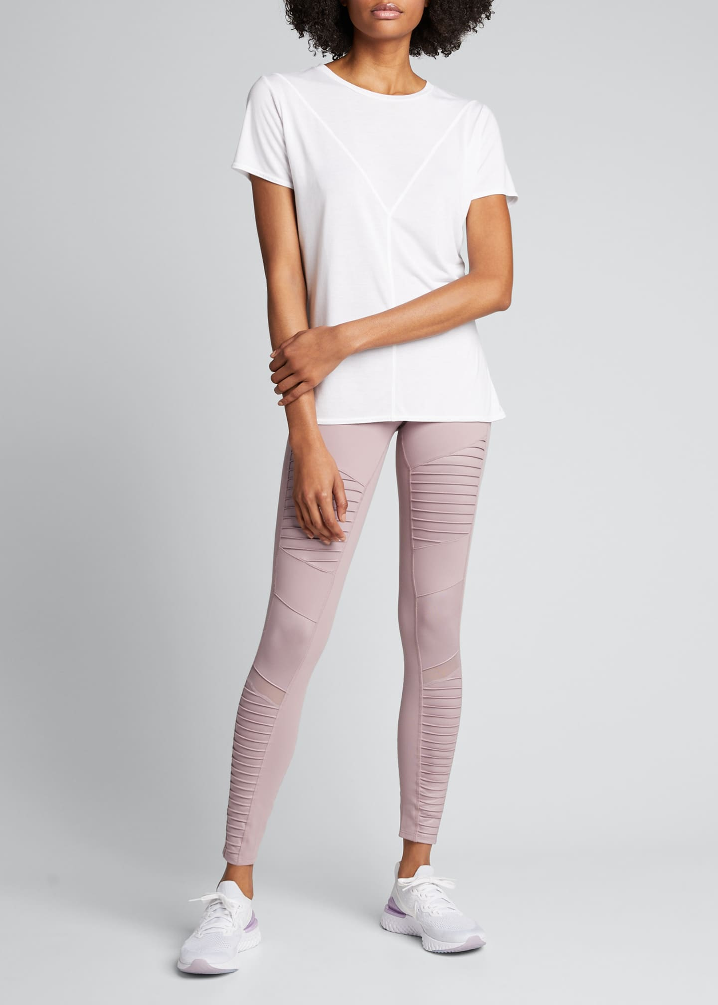 Image 1 of 3: Moto High-Waist Sport Leggings