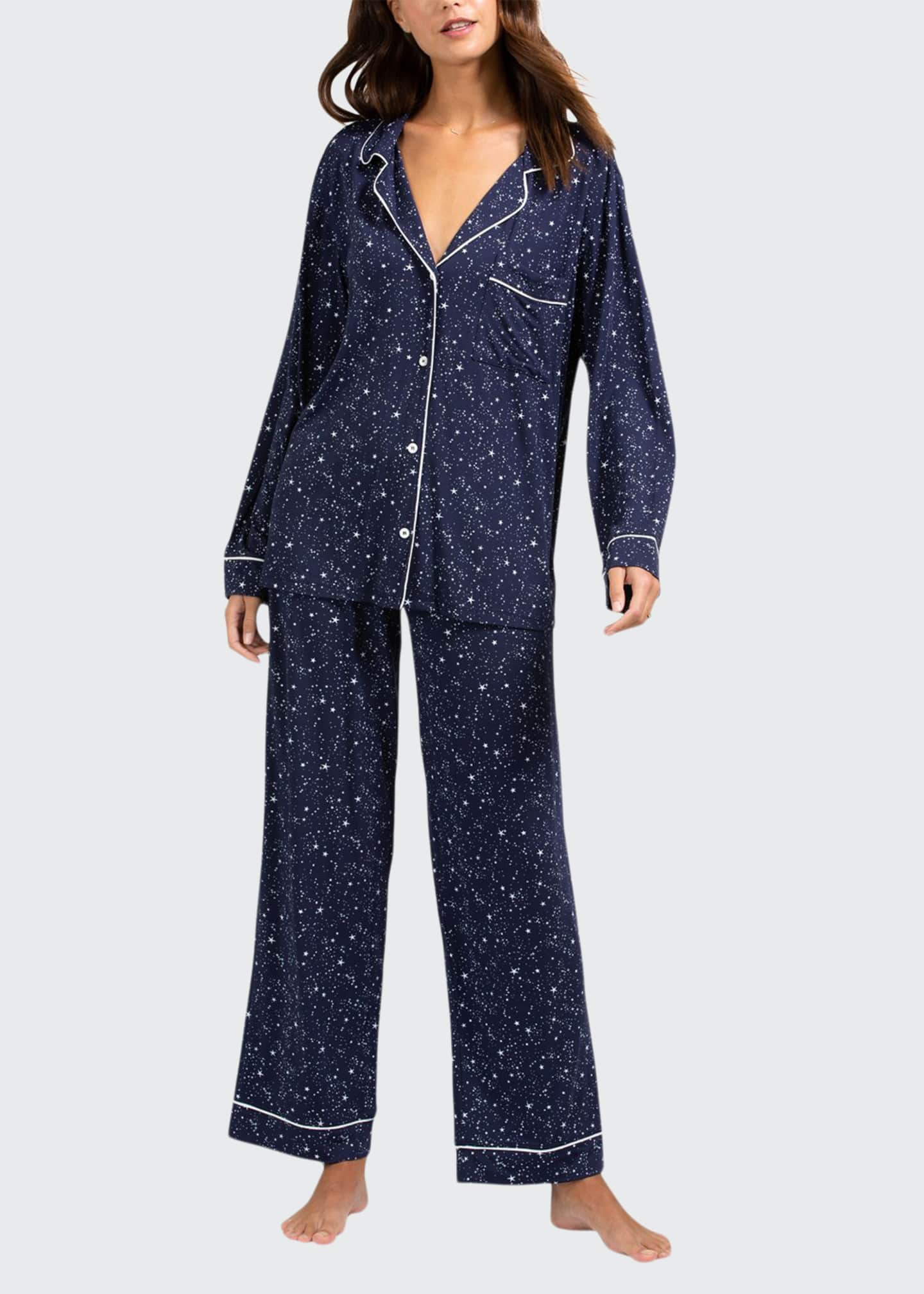 Image 1 of 2: Sleep Chic Printed Pajama Set