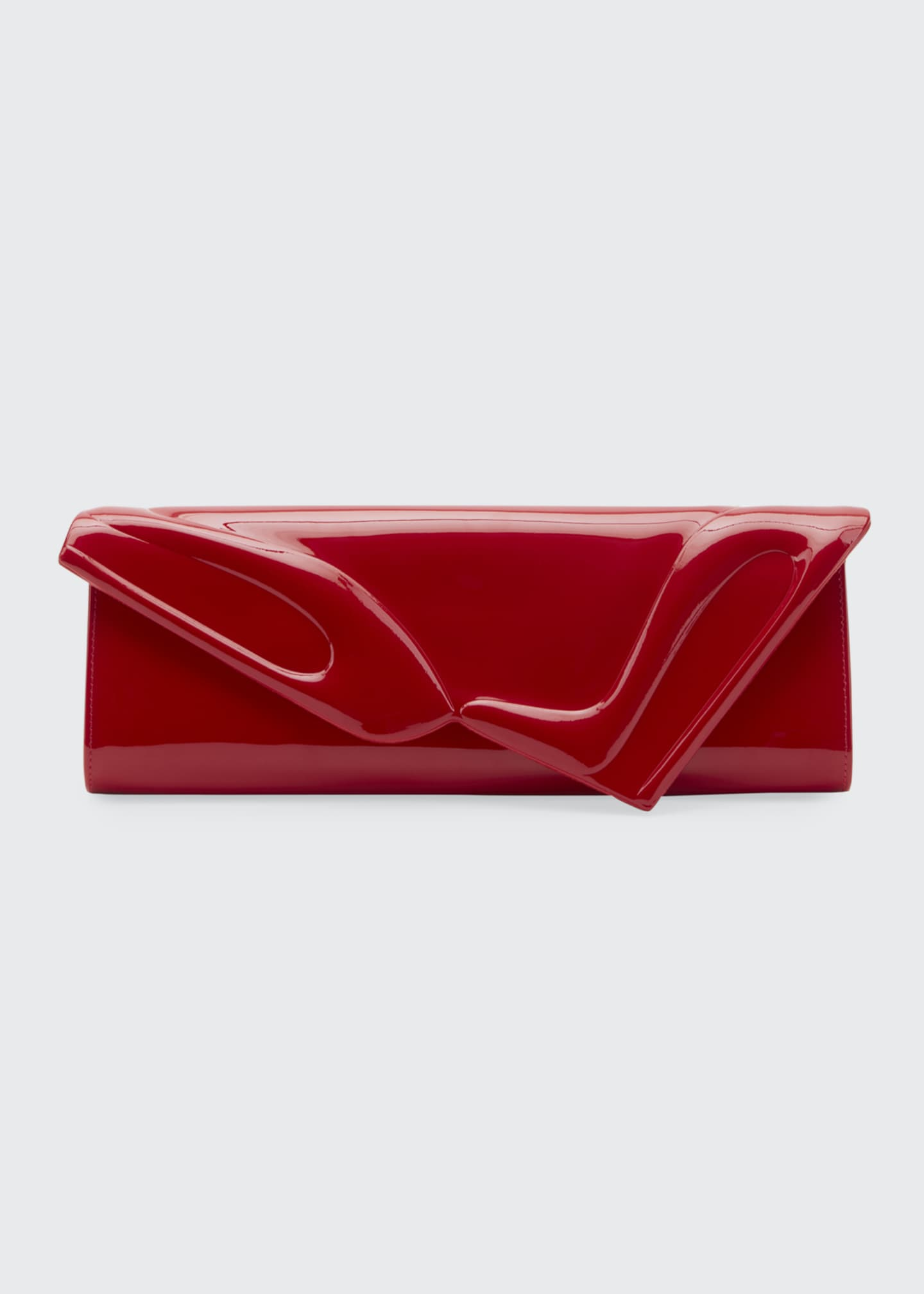 Image 1 of 1: So Kate Patent East-West Clutch Bag, Black