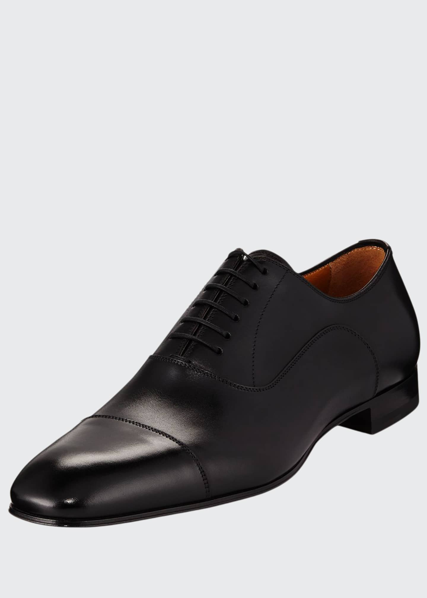 Image 1 of 3: Greggo Men's Lace-Up Leather Dress Shoes