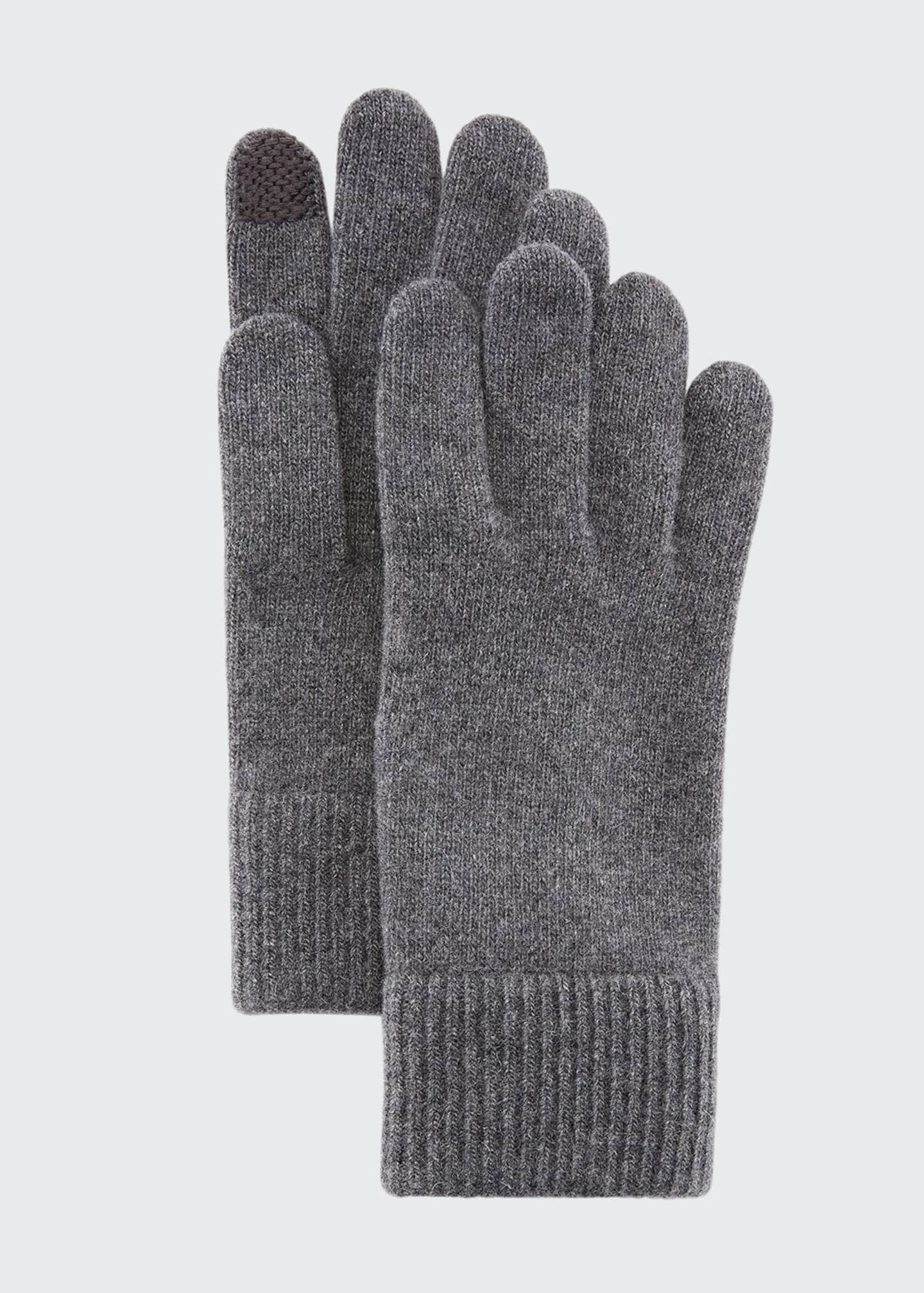 Image 1 of 1: Cashmere Tech Gloves