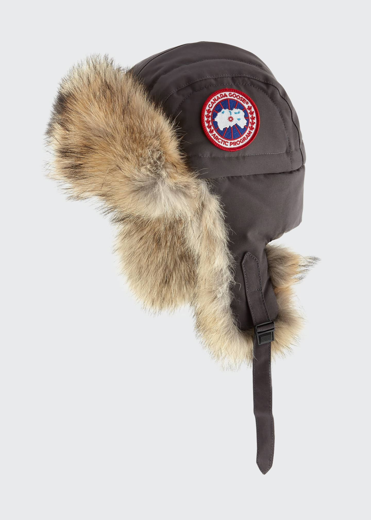 Image 1 of 1: Coyote-Fur Aviator Hat