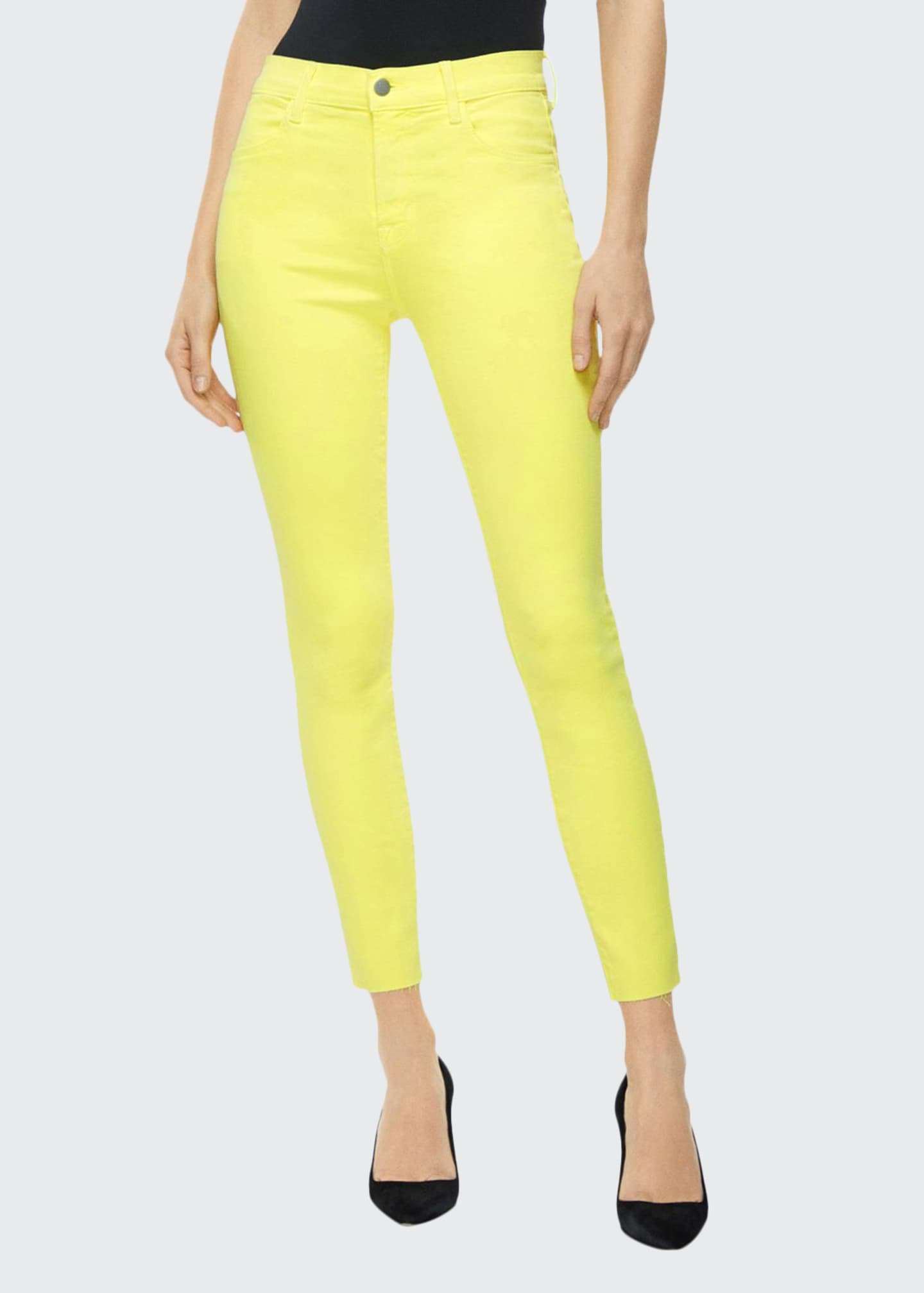 Image 1 of 4: Alana High-Rise Cropped Skinny Jeans