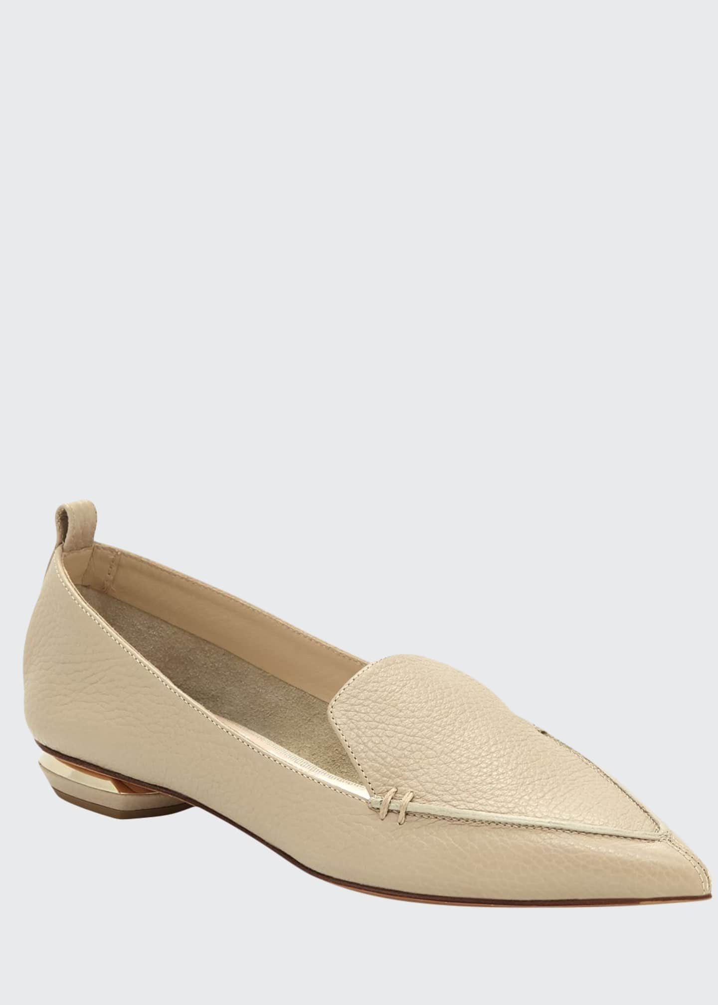 Image 1 of 3: Beya Leather Loafer, Sand
