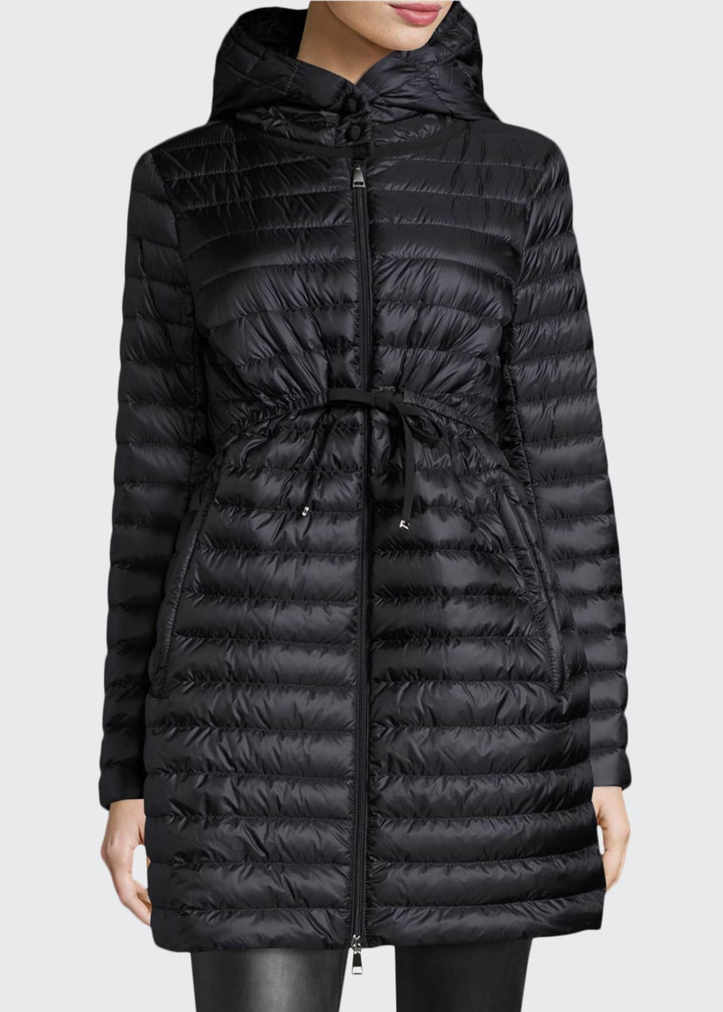 Image 1 of 1: Barbel Hooded Puffer Coat