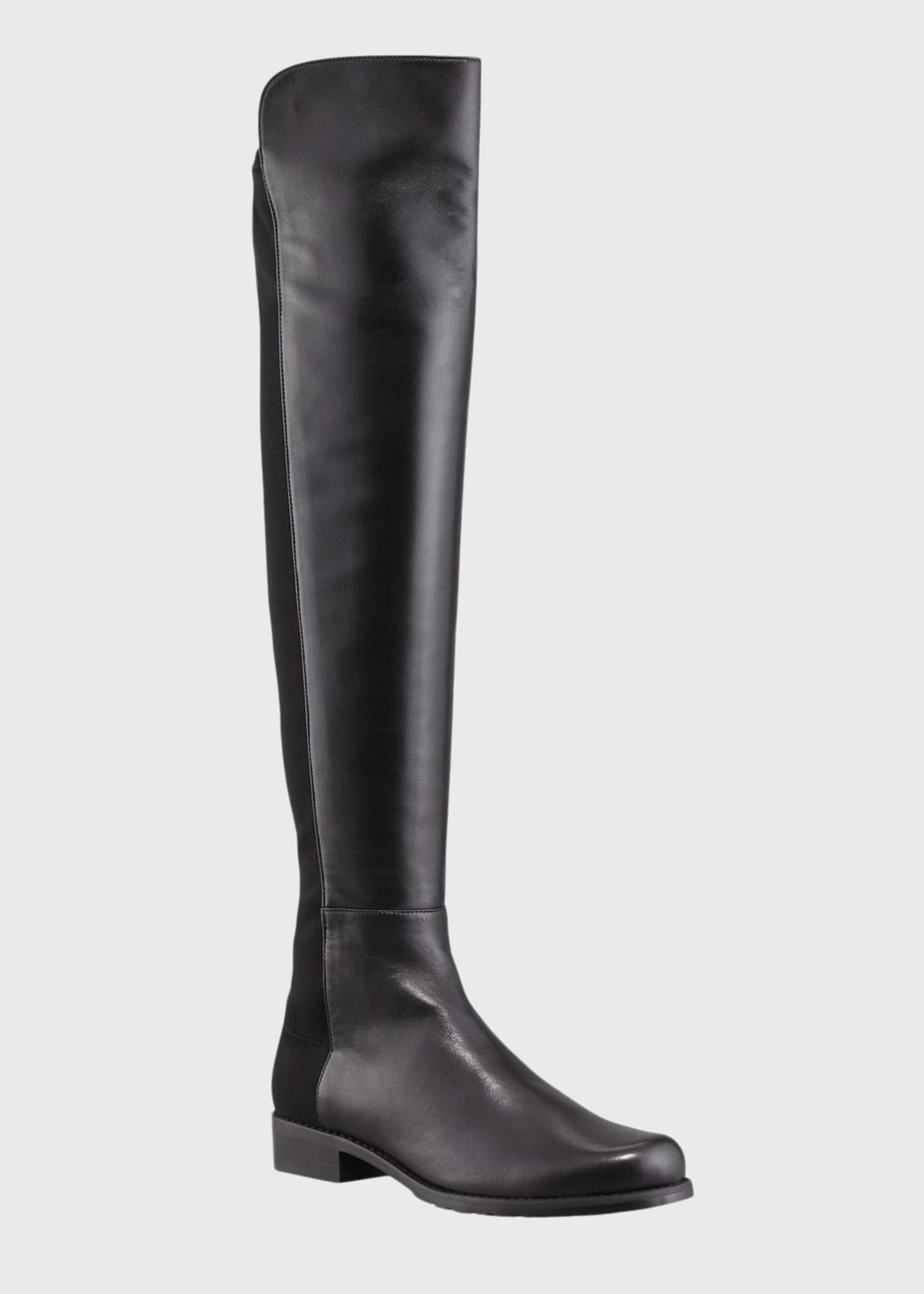 Image 1 of 3: 50/50 Napa Stretch Over-the-Knee Boot, Black