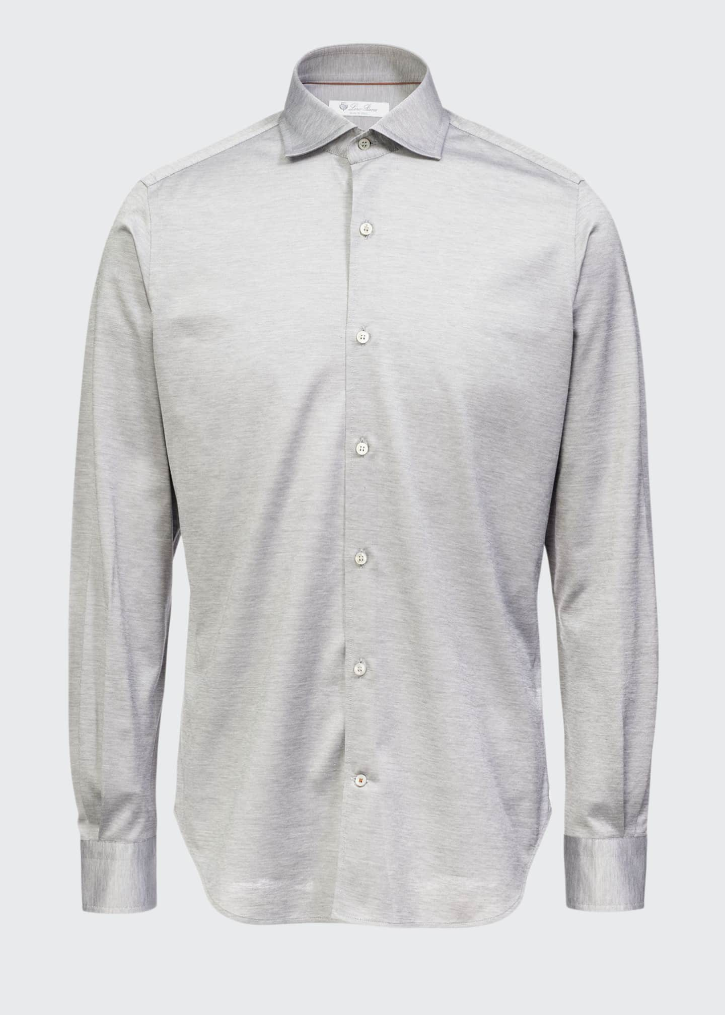 Image 1 of 2: Men's Andrew Jersey Oxford Shirt
