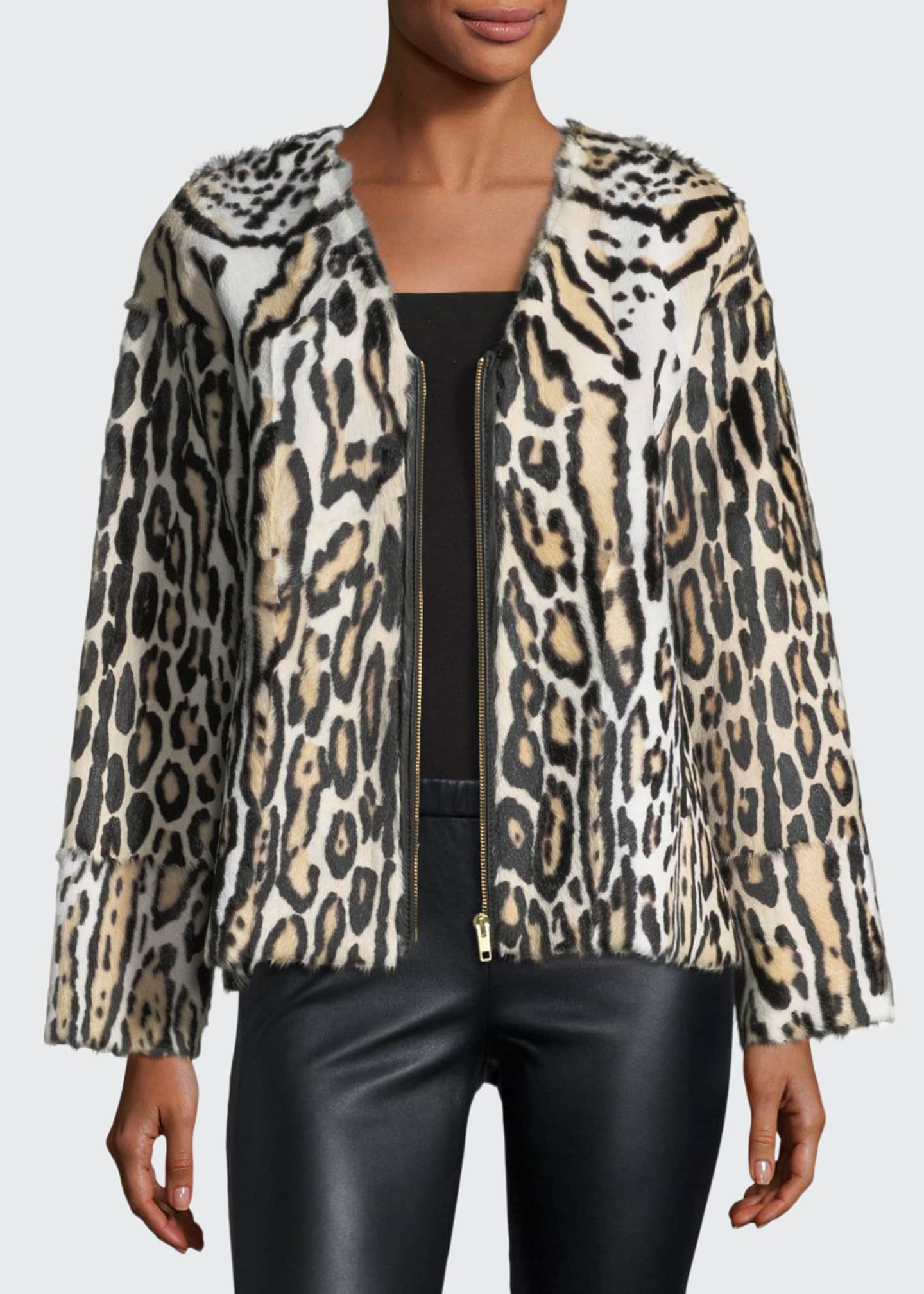 Image 1 of 3: UTZON LEOPARD JACKET
