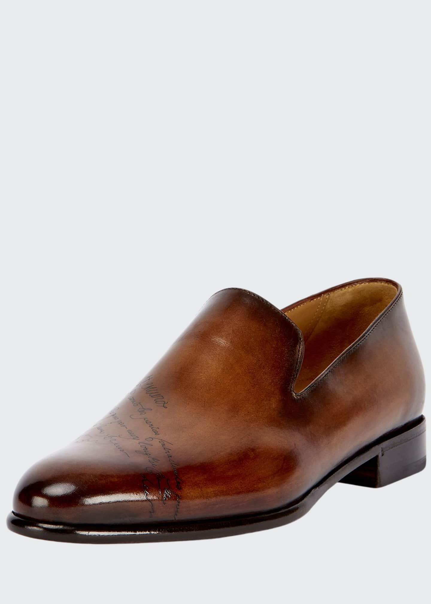 Image 1 of 3: Scritto Leather Slip-On Dress Shoe