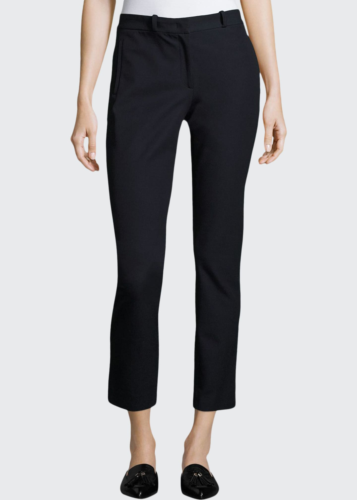 Image 1 of 2: New Elliston Stretch-Gabardine Skinny Ankle Pants