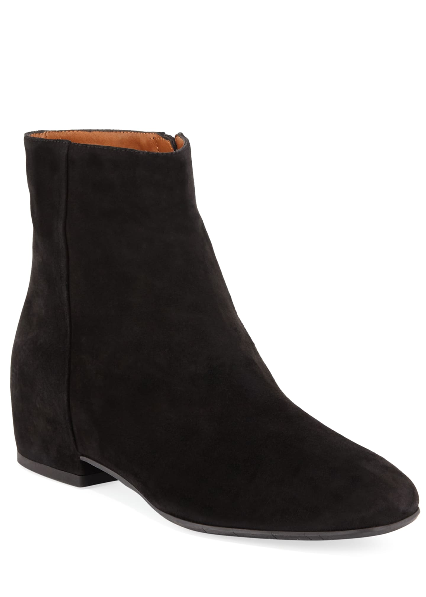 Aquatalia Ulyssa Waterproof Suede Ankle Boots with Hidden