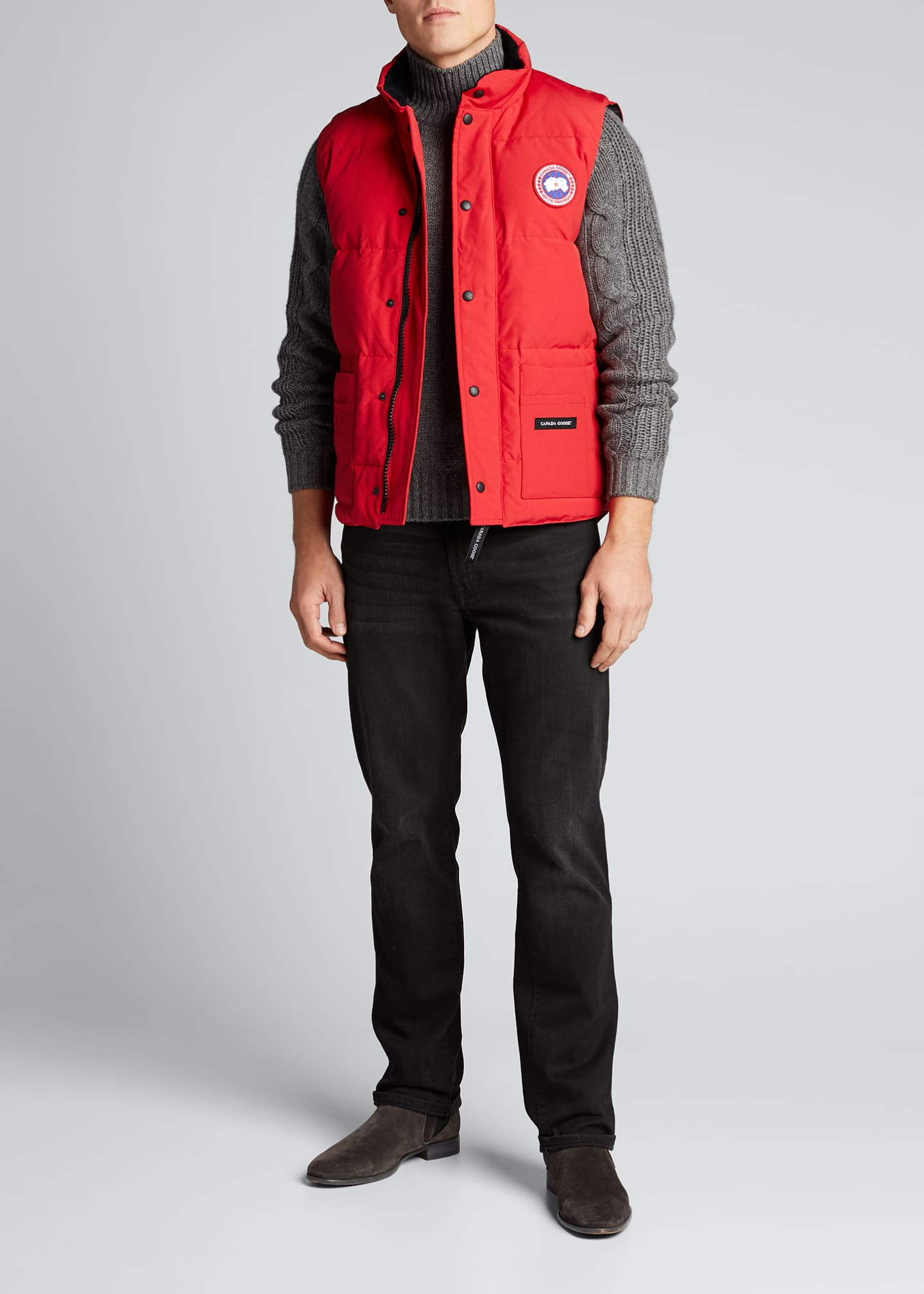 Canada Goose Men's Freestyle Down Crew Vest