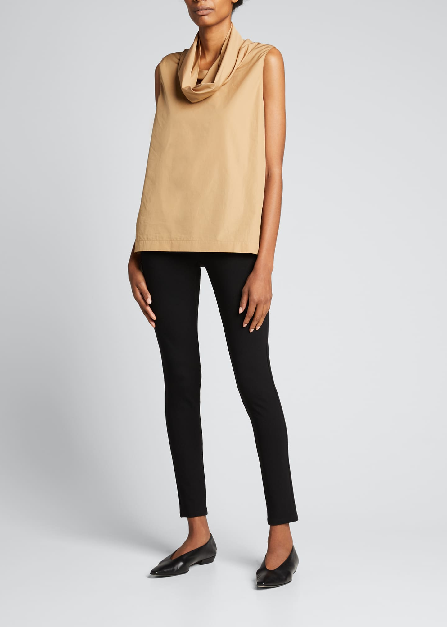 Image 1 of 3: Shawn Pull-On Stretch Leggings