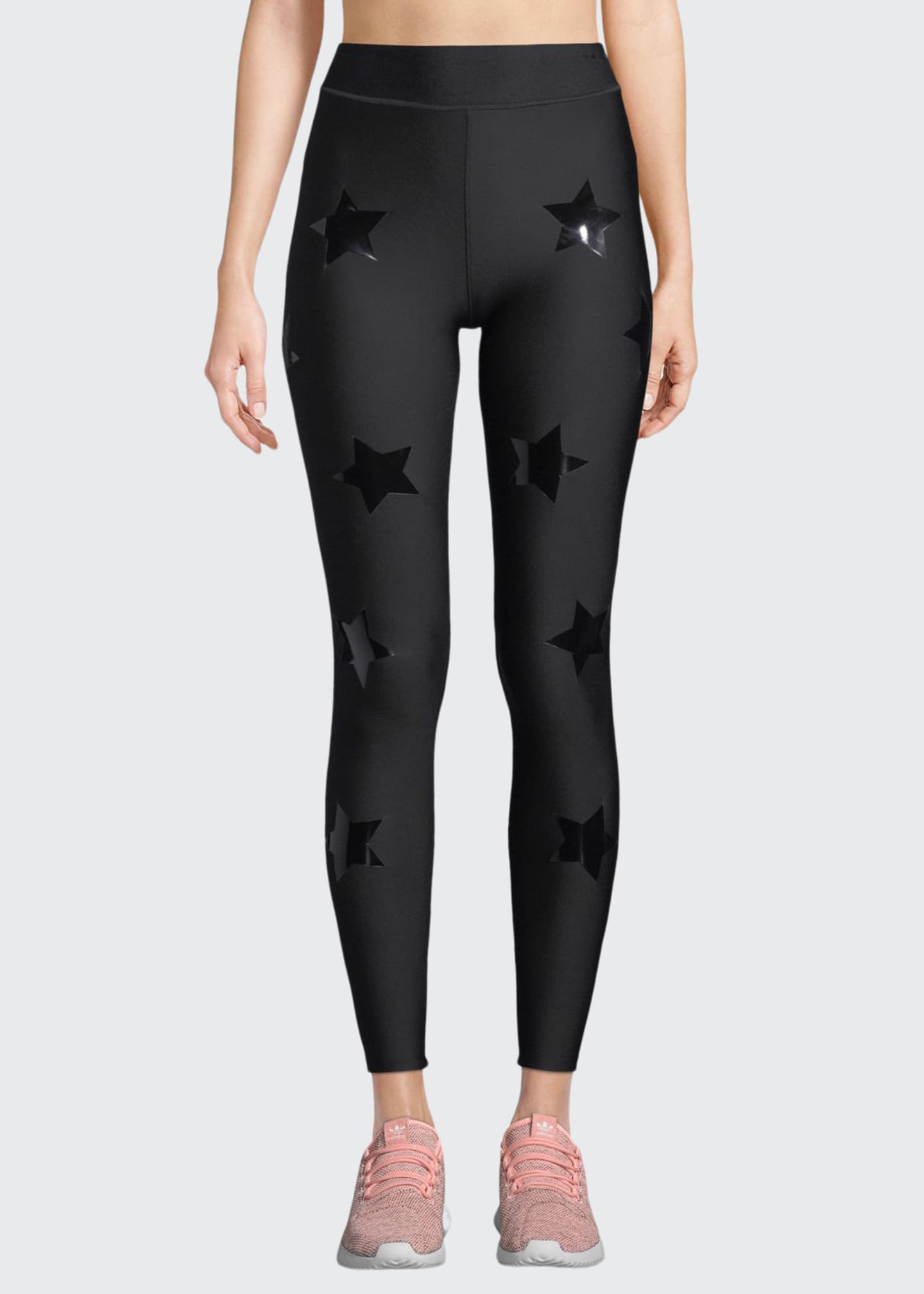 Image 1 of 2: Lux Knockout Ankle Leggings