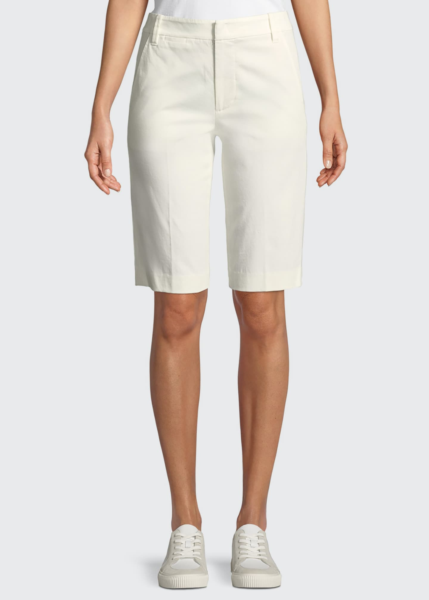 Image 1 of 3: Coin-Pocket Bermuda Shorts