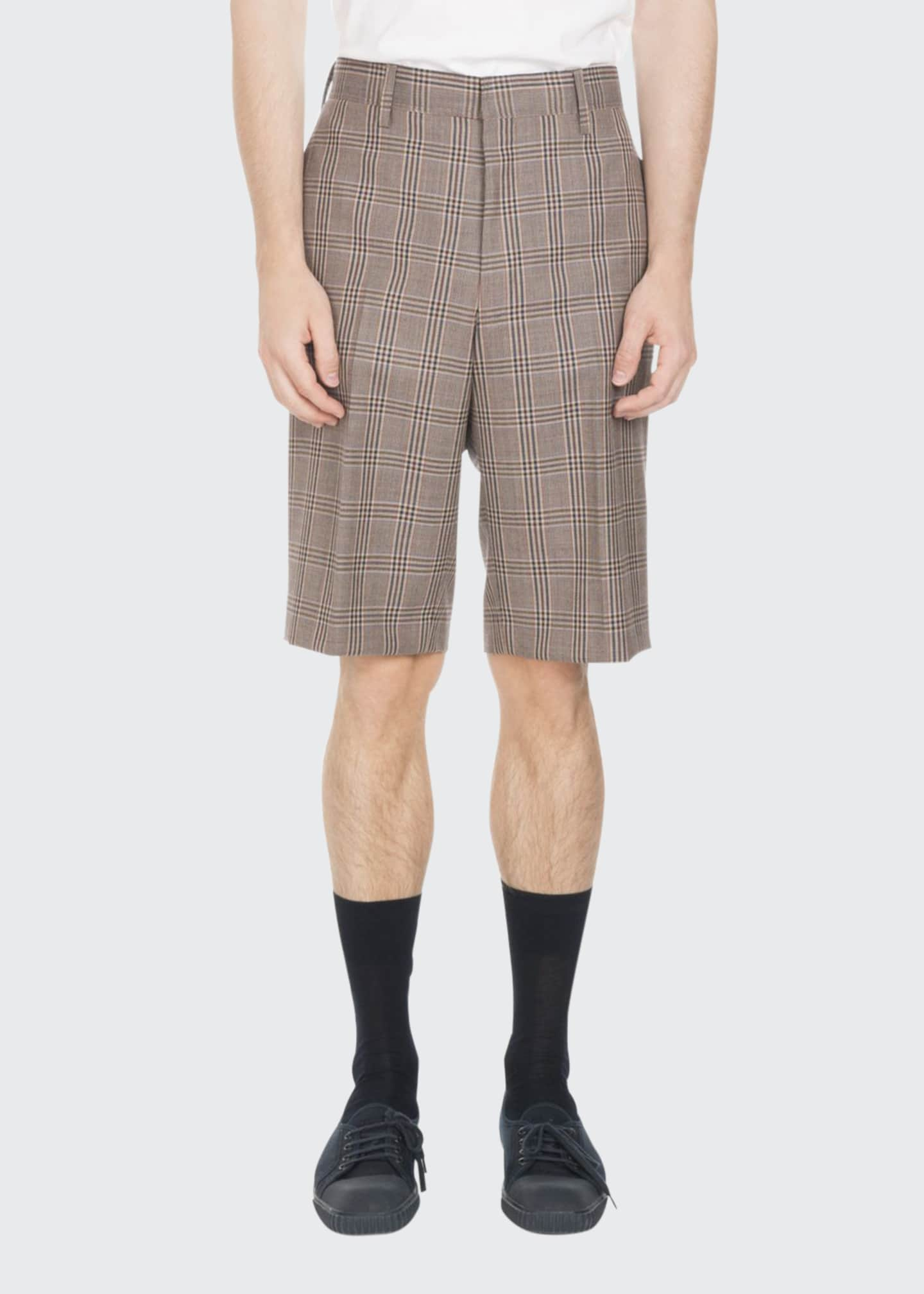 Image 1 of 2: PLAID SHORT