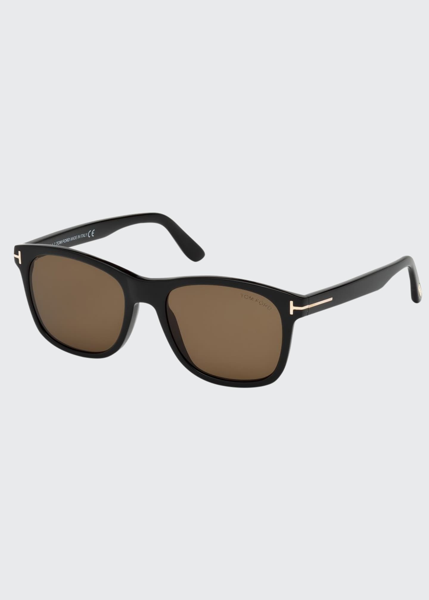Image 1 of 1: Eric Square Acetate Sunglasses
