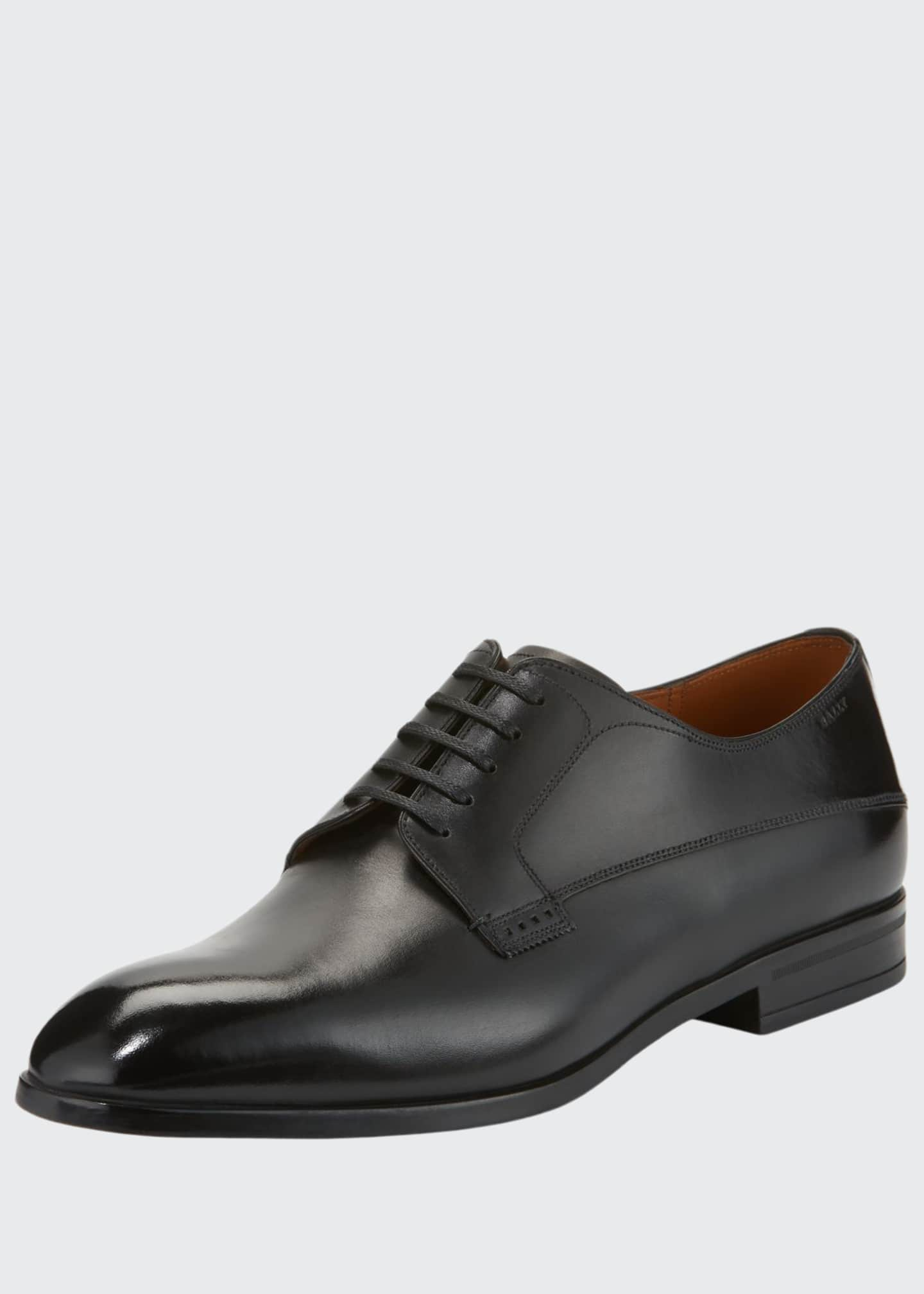 Image 1 of 3: Lantel Classic Leather Derby Shoe