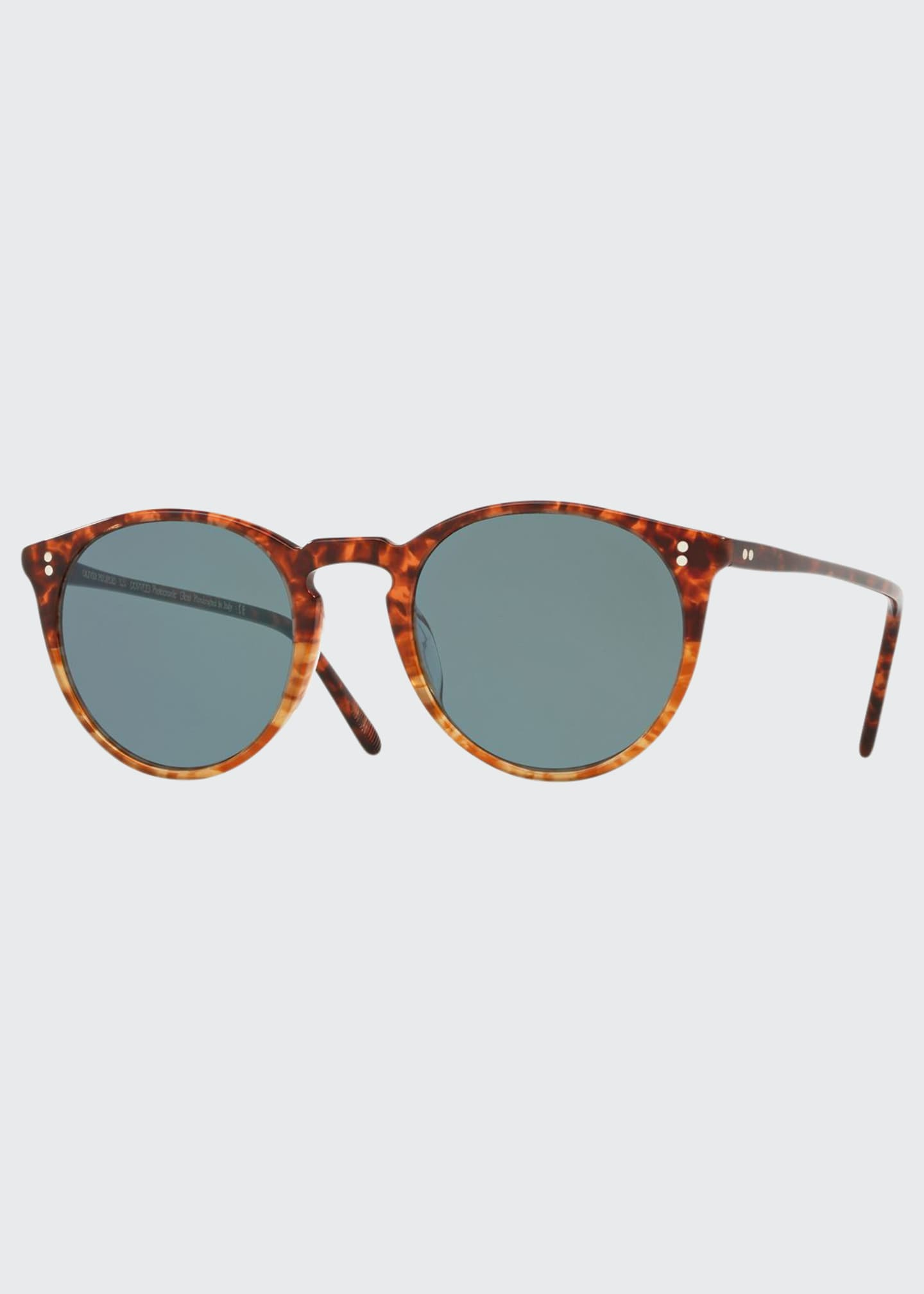 Image 1 of 1: O'Malley Peaked Round Photochromic Sunglasses