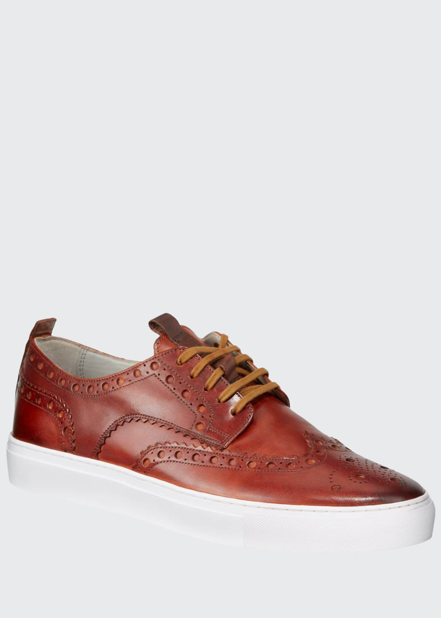 Grenson Limited Men's Leather Brogue Sneakers