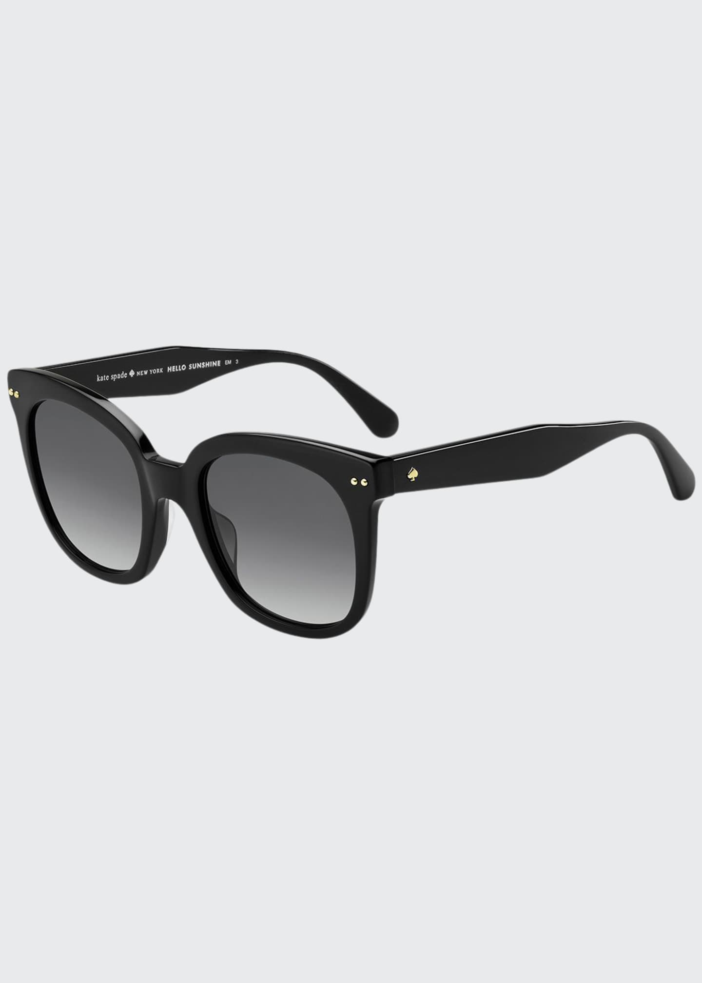 Image 1 of 1: atalias round acetate sunglasses