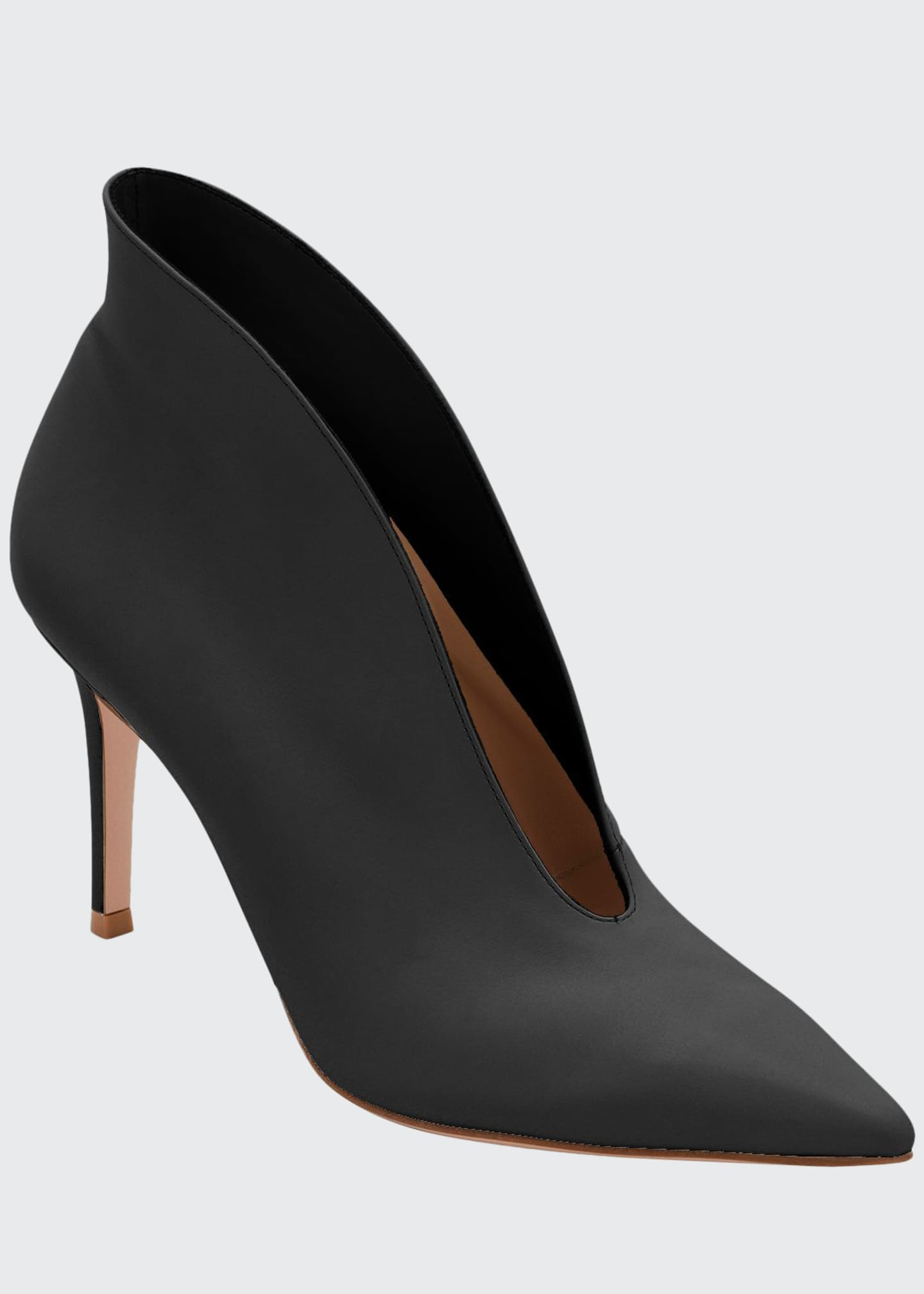Image 1 of 2: Napa V-Neck Pointed Bootie