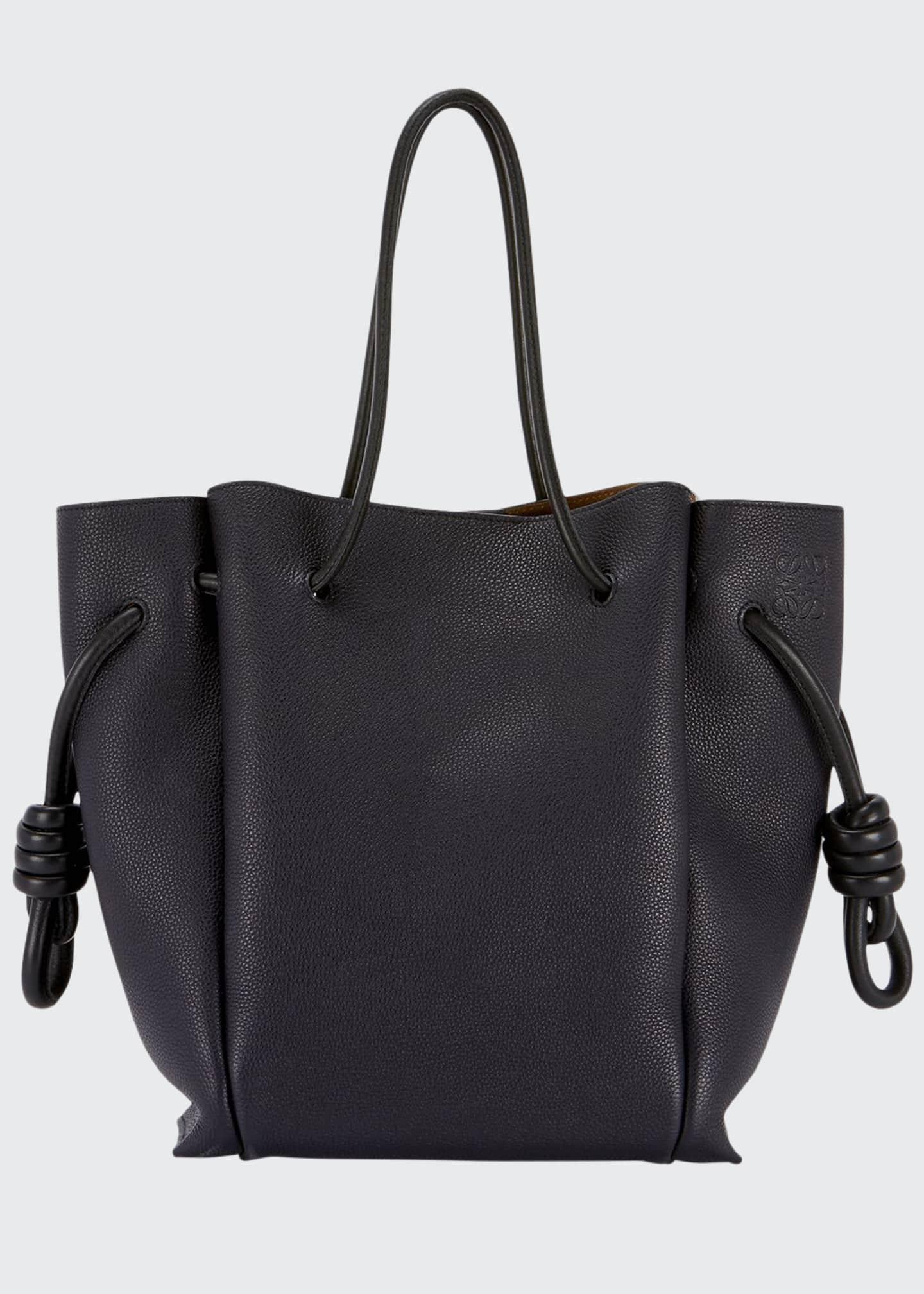 Loewe Flamenco Knot Leather Tote Bag