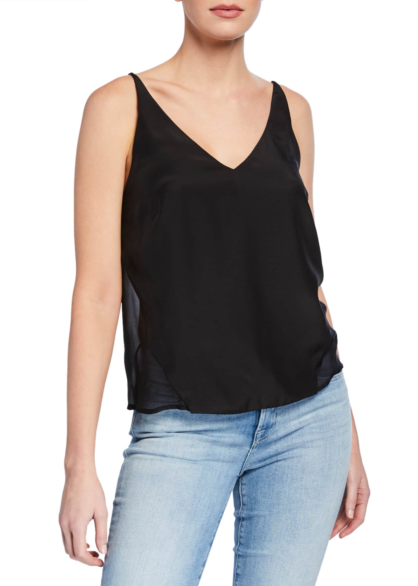 Image 1 of 2: Lucy V-Neck Cami