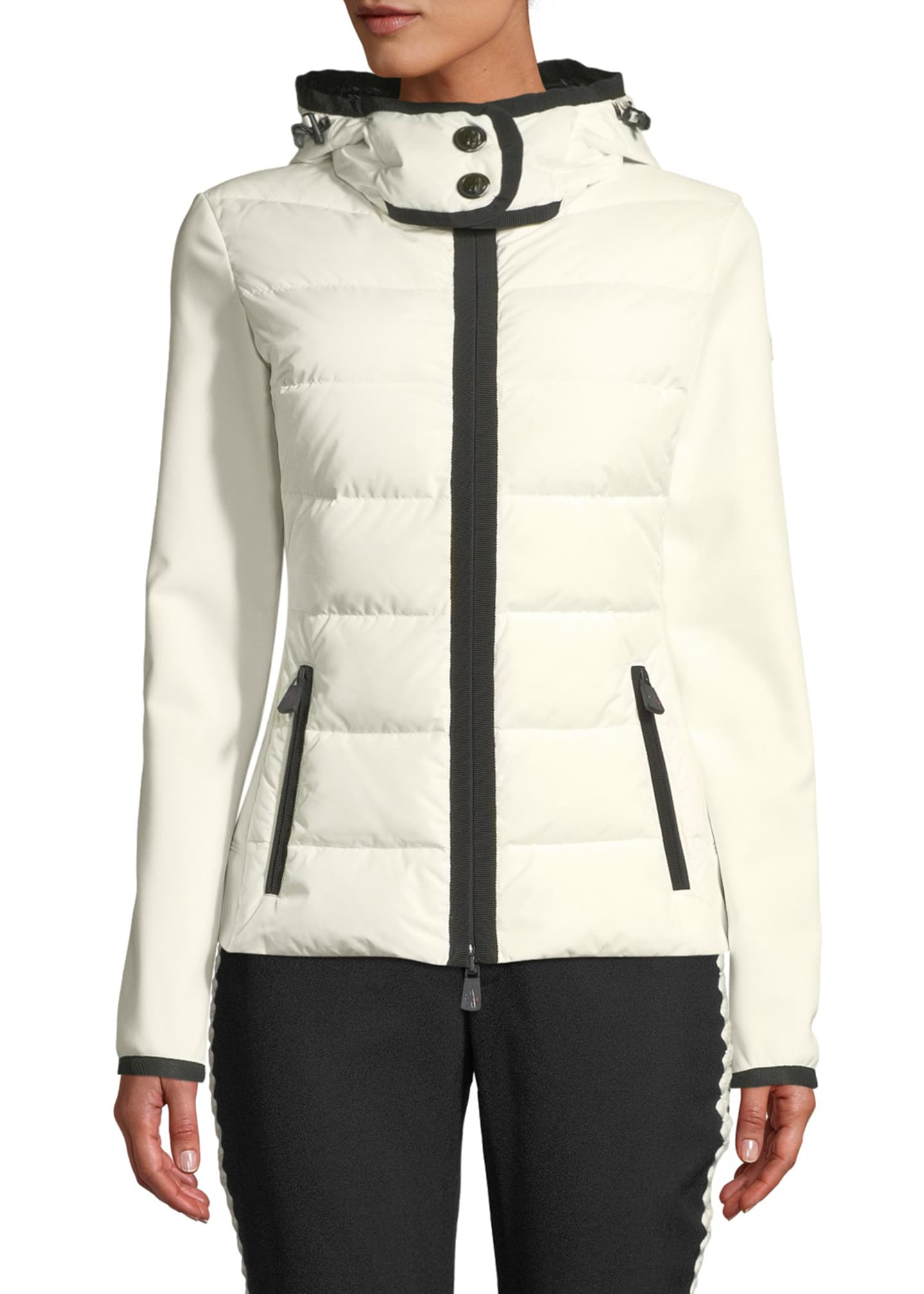 Image 1 of 1: Down Knit Combo Shell Jacket