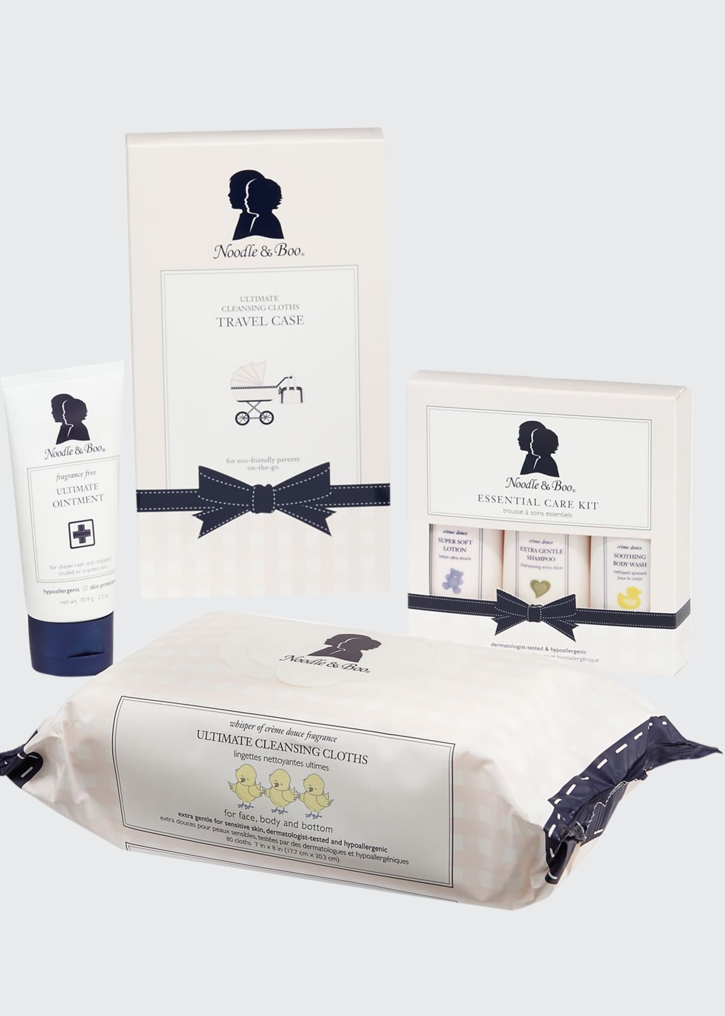 Noodle & Boo Baby Basics To-Go Gift Set