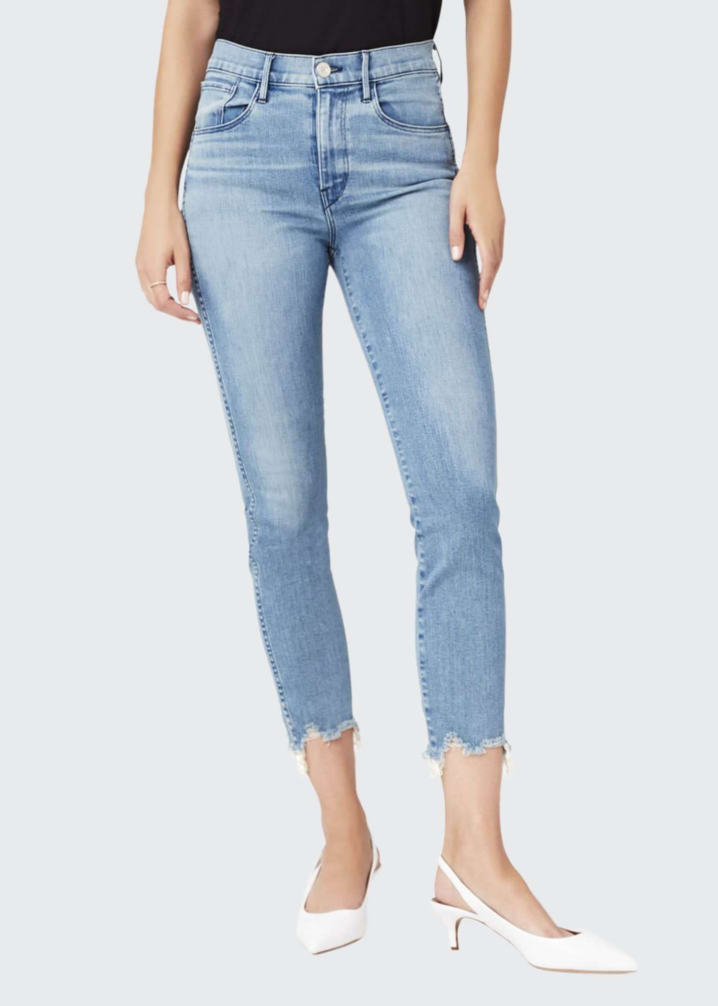 Image 1 of 2: W3 High-Rise Authentic Straight-Leg Jeans
