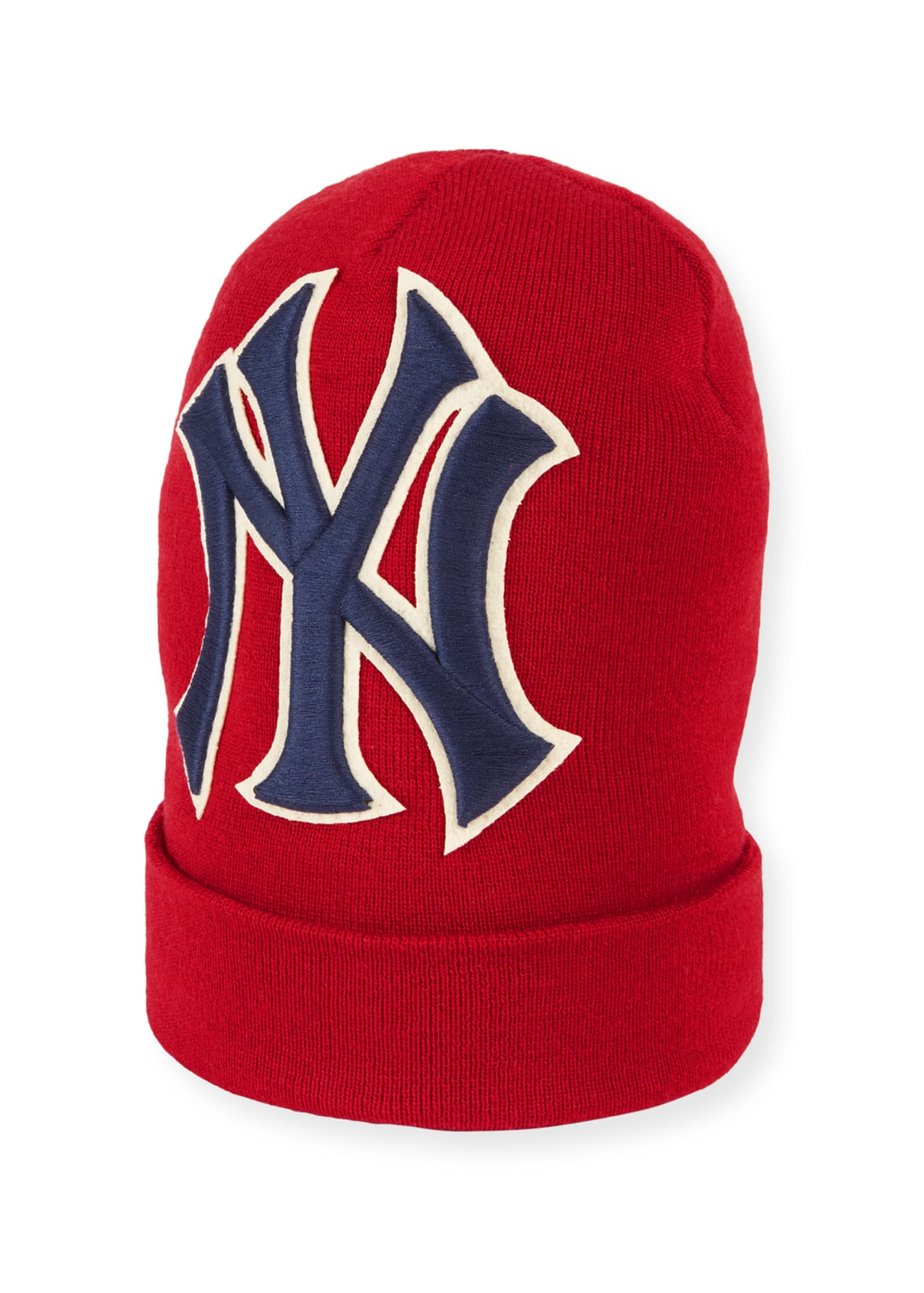 Gucci Men's New York Yankees MLB Patch Beanie