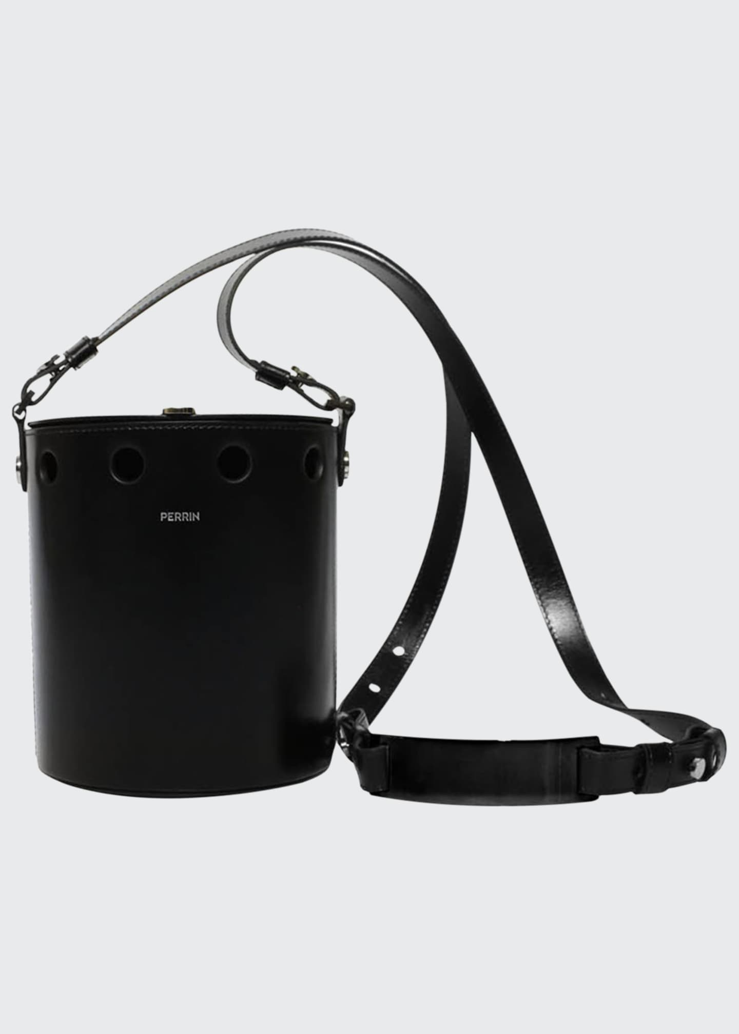 Perrin Paris Demi Seau Studded Bucket Bag