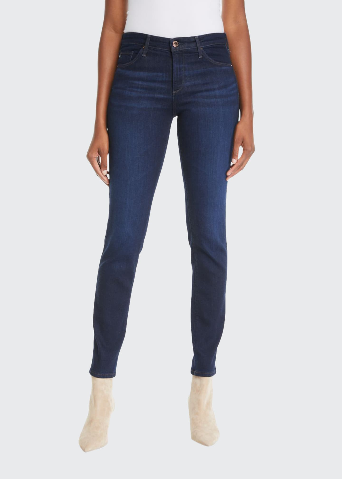 Image 1 of 3: Prima Mid-Rise Ankle Cigarette Jeans