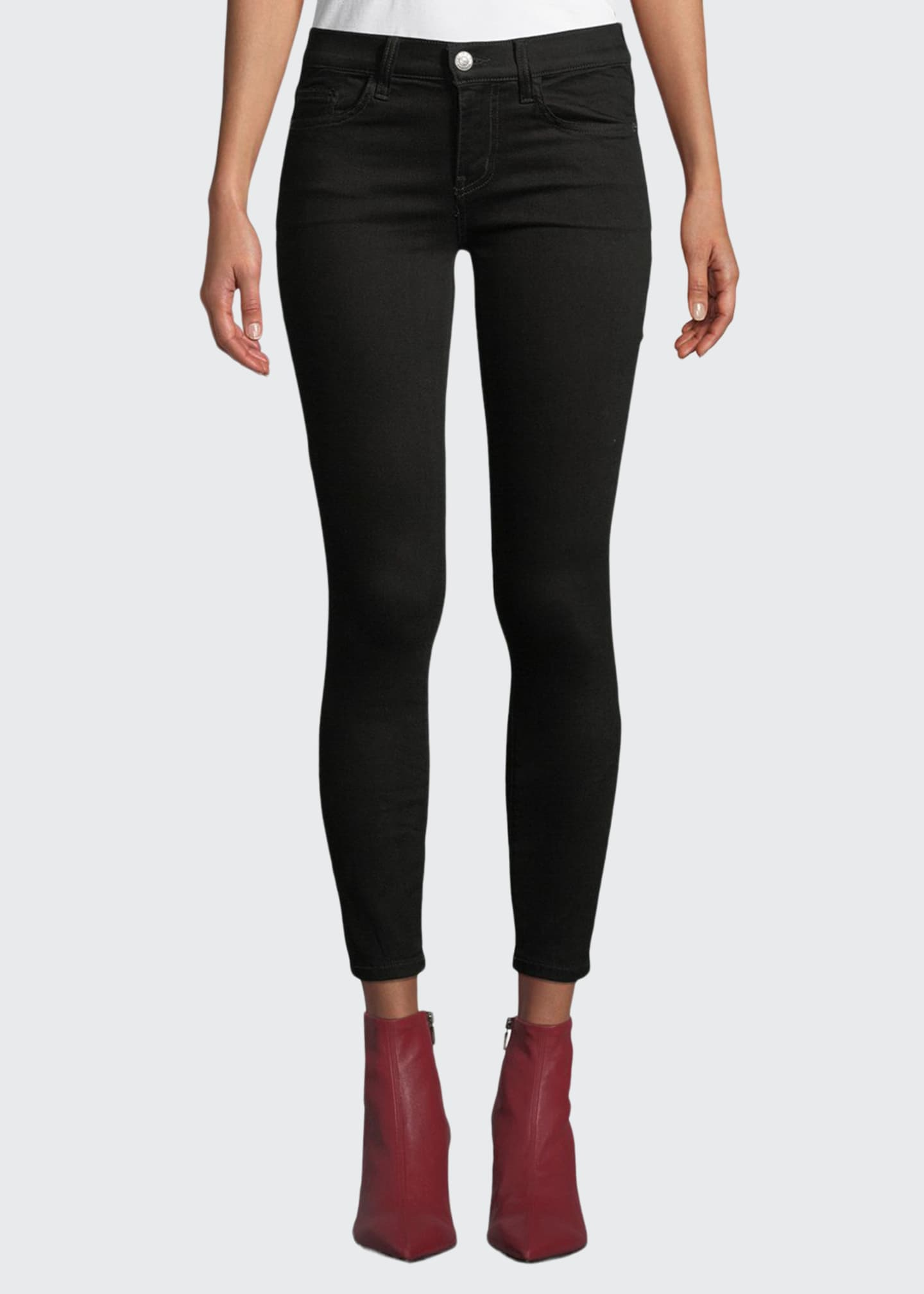 Image 1 of 4: The Stiletto Skinny Ankle Jeans