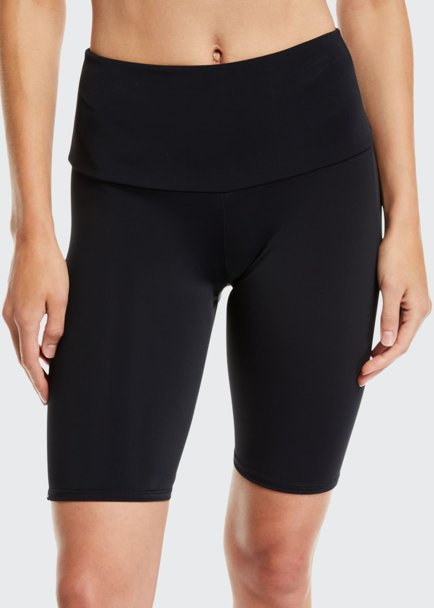 Image 1 of 3: High-Rise Activewear Bike Shorts