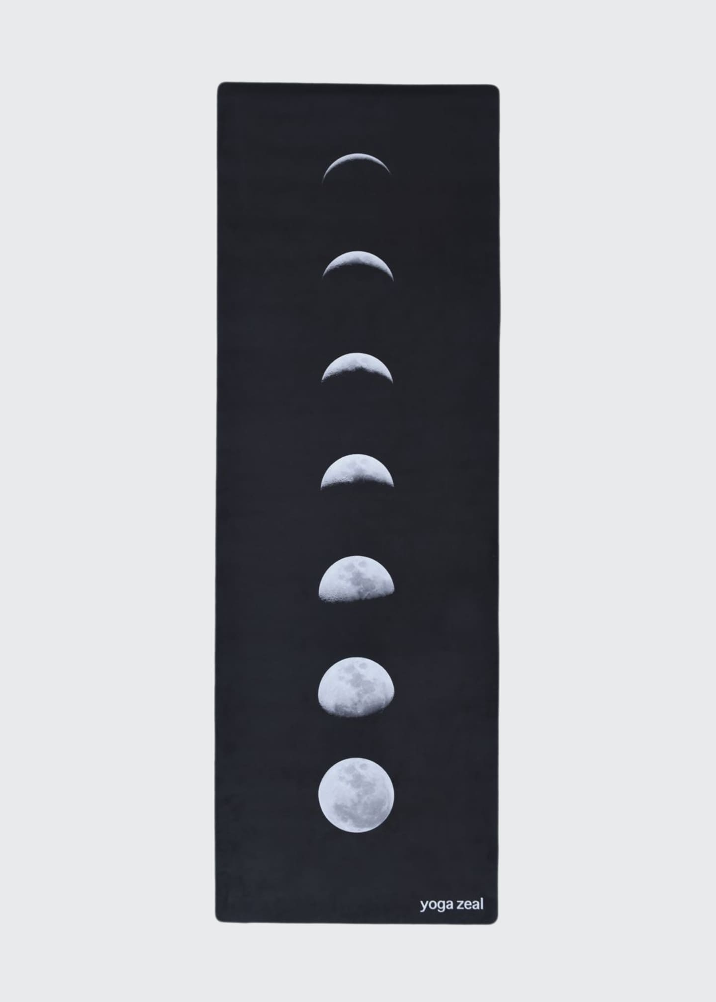Image 1 of 3: Black Lunar Printed Yoga Mat