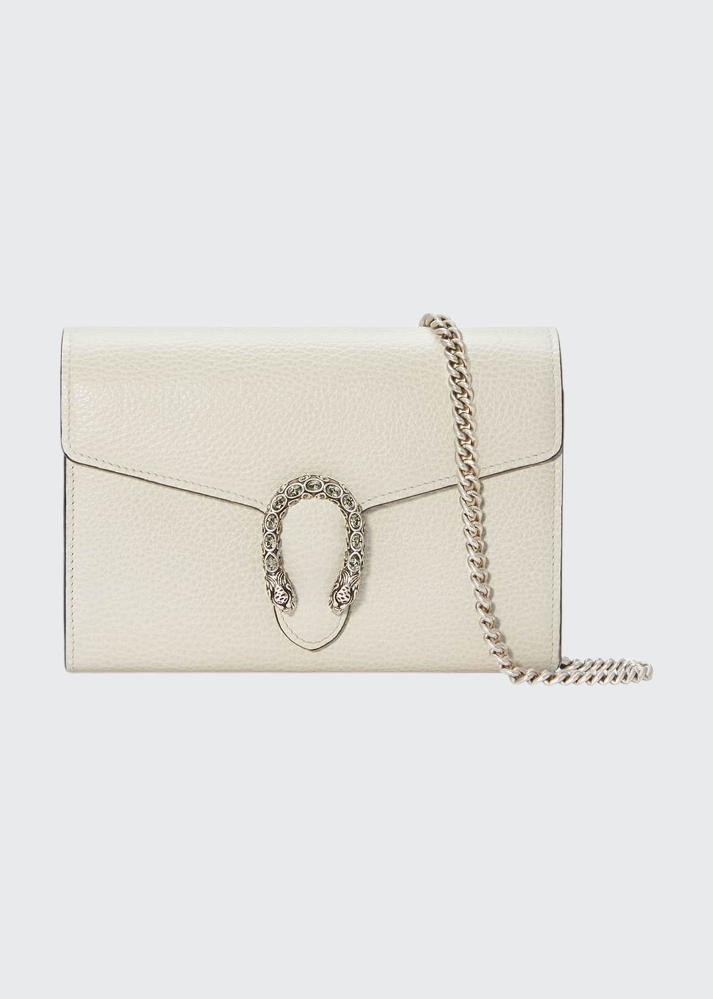 Gucci Dionysus Mini Leather Chain Bag