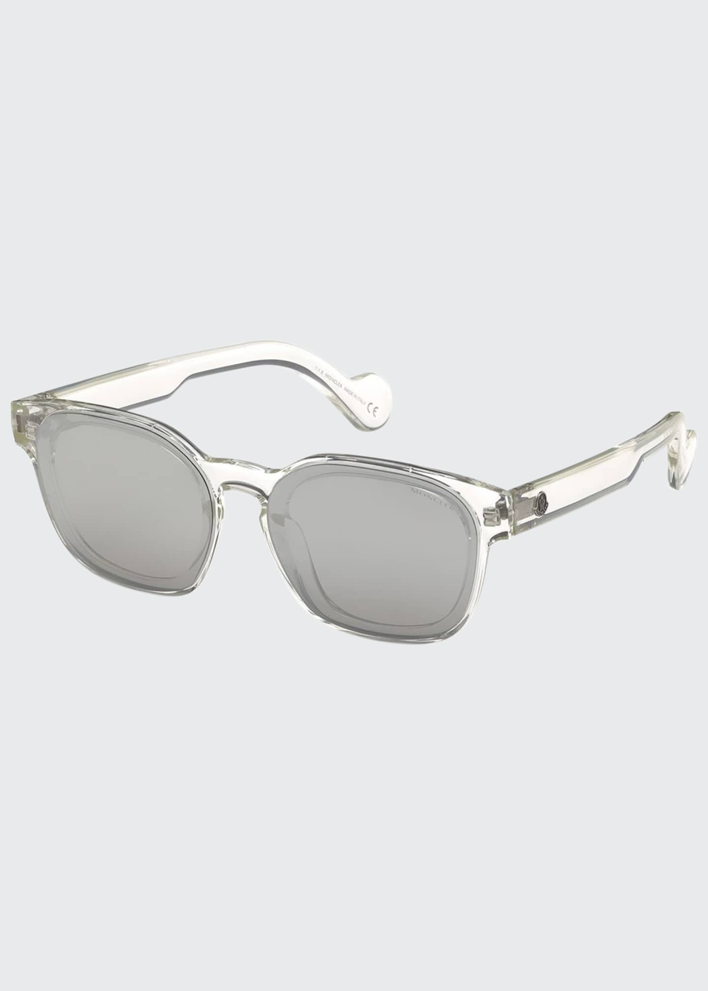 Image 1 of 1: Mirrored Rectangle Sunglasses
