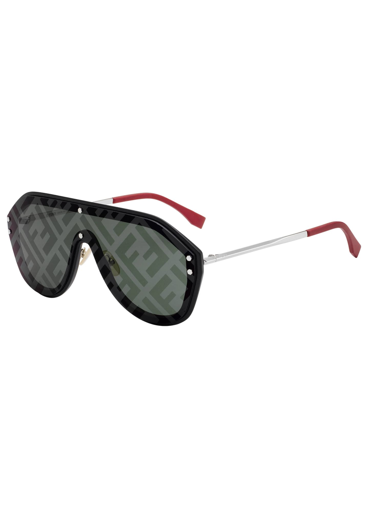 Image 1 of 1: Men's FF Shield Sunglasses