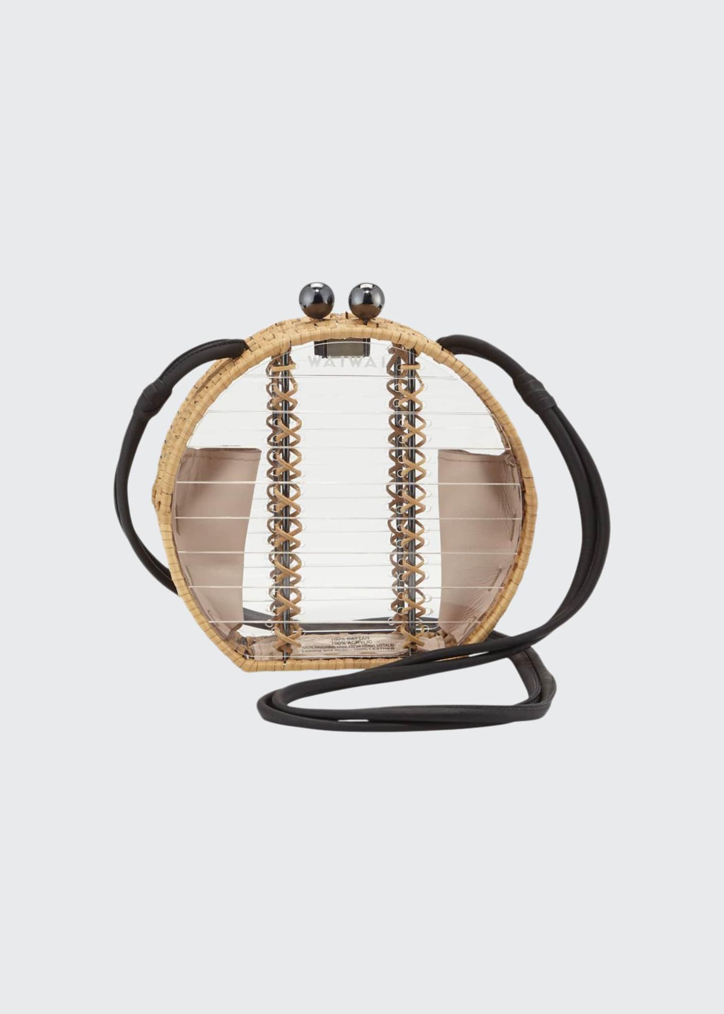 Wai Wai Acrylic Jabuticaba Crossbody Bag
