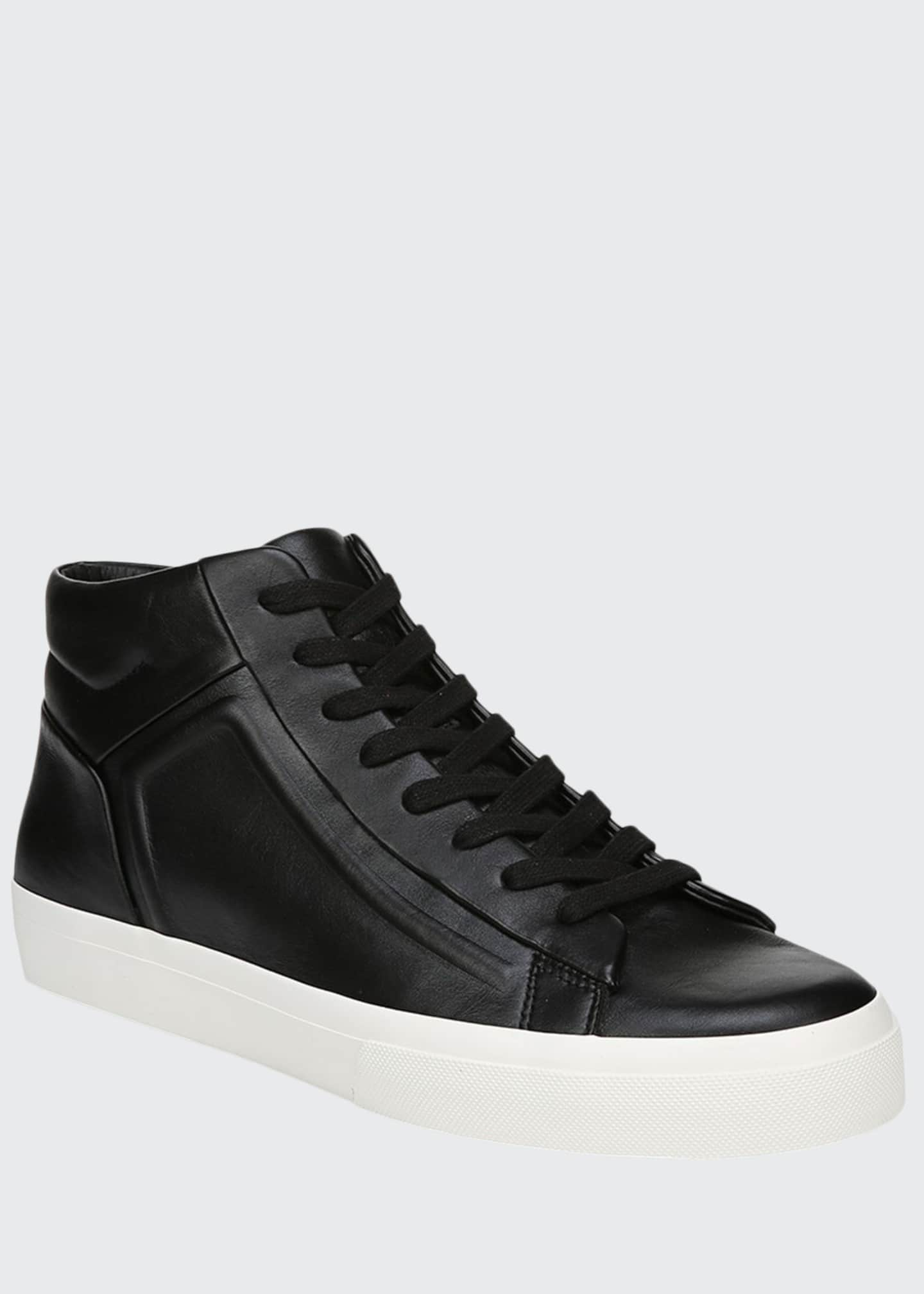 Image 1 of 5: Men's Fynn Glove Leather Low-Top Sneakers