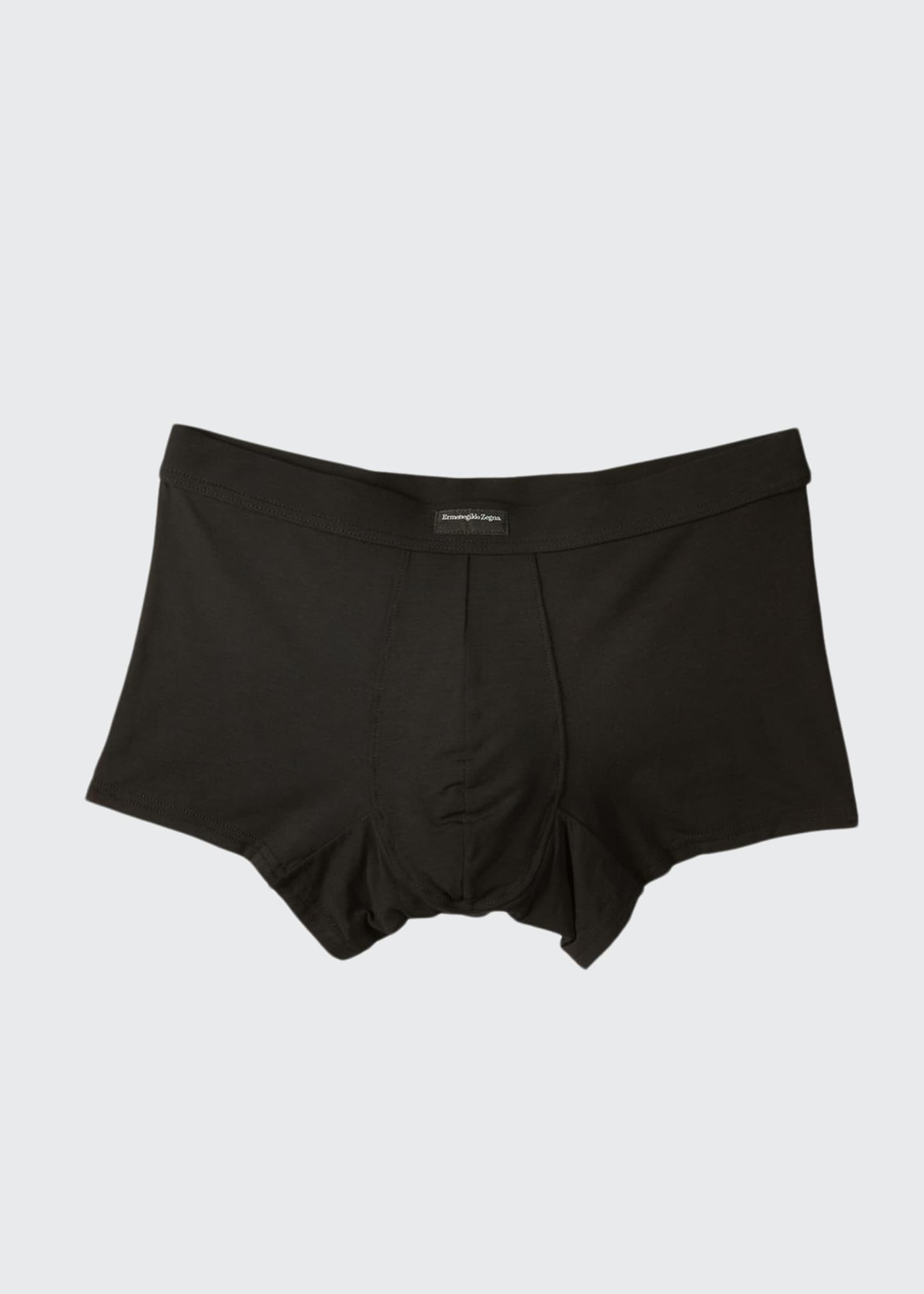 Image 1 of 2: Men's Micromodal Trunk Boxer Briefs