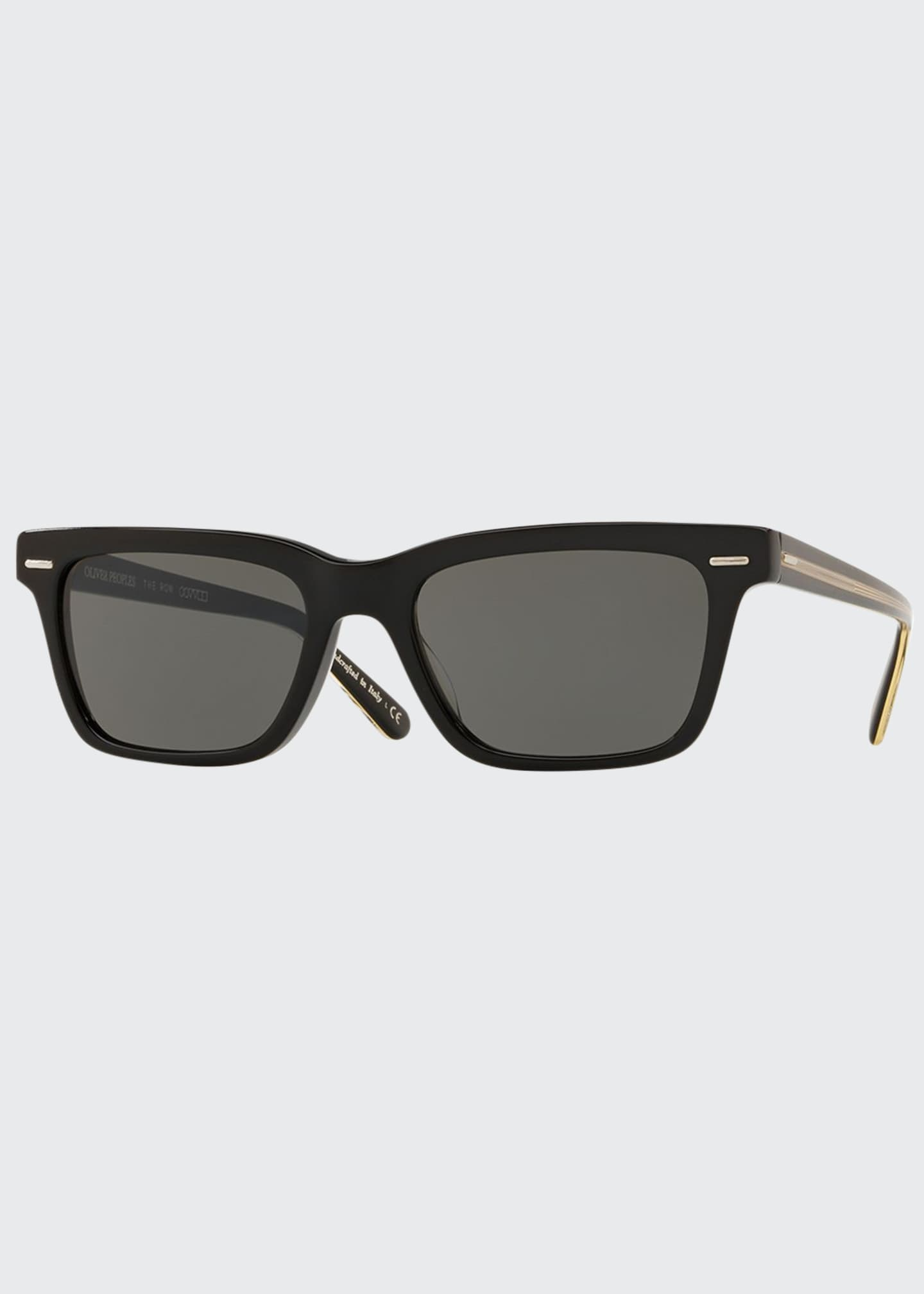 Image 1 of 2: BA CC Rectangle Acetate Sunglasses